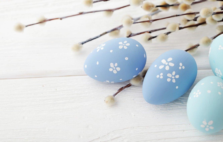 blue easter eggs wallpaper