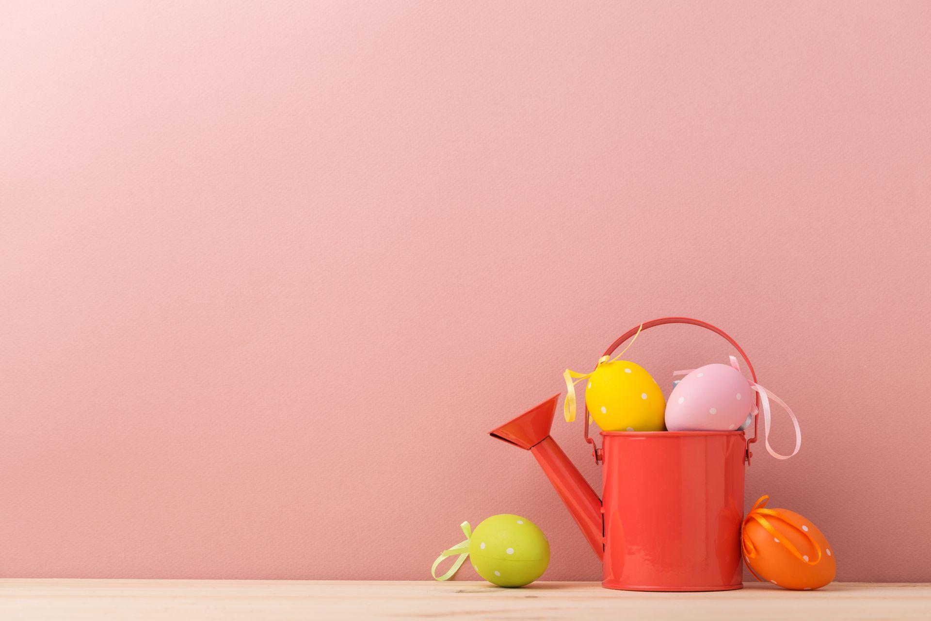 pink wallpaper easter egg