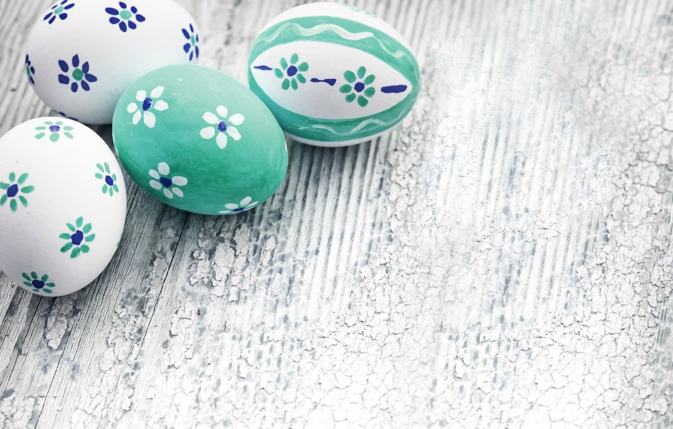 Decorative Easter eggs Wallpaper
