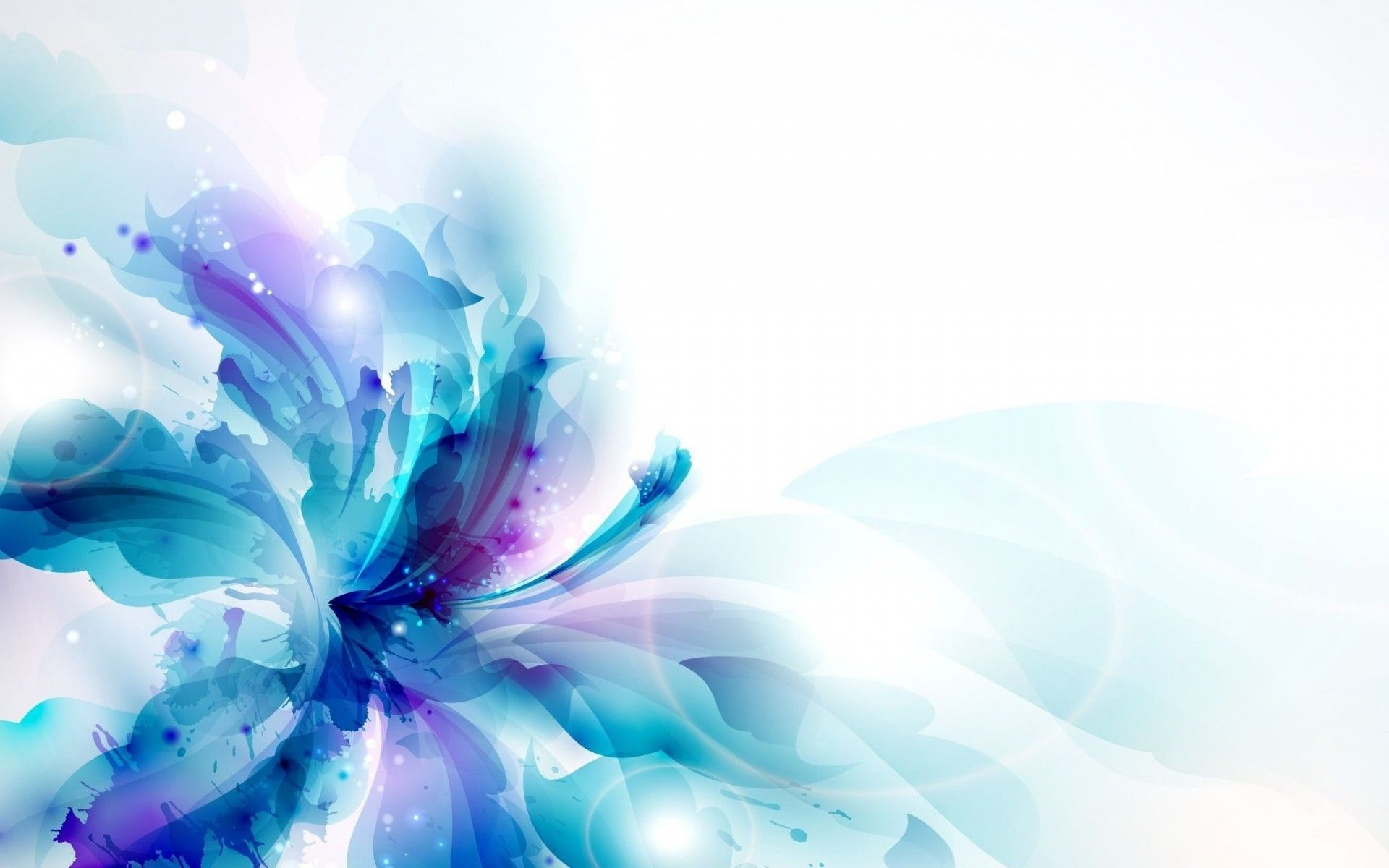 Colorful Flower HD desktop wallpaper