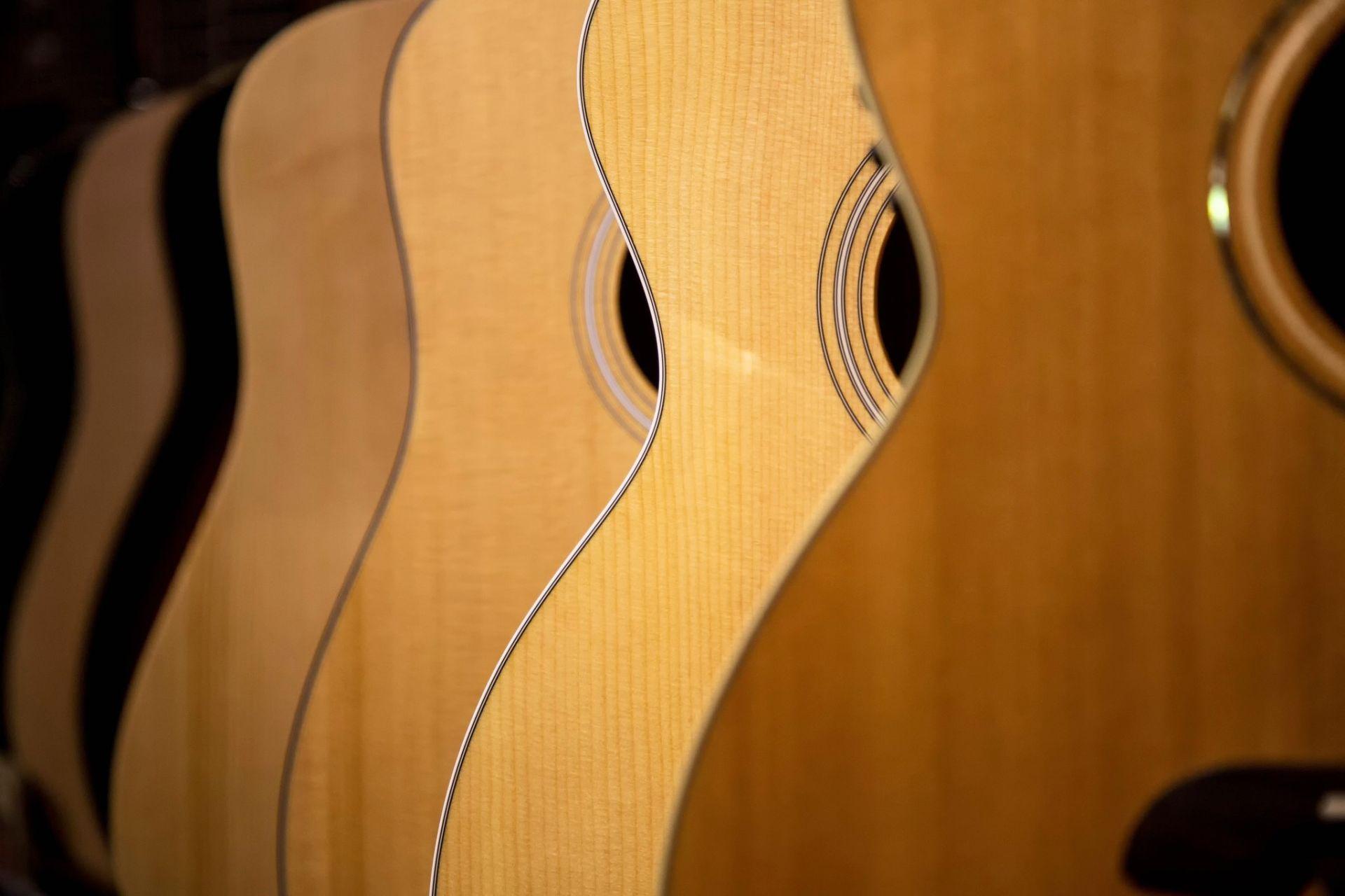 Acoustic Guitars wood, HD Desktop Wallpaper