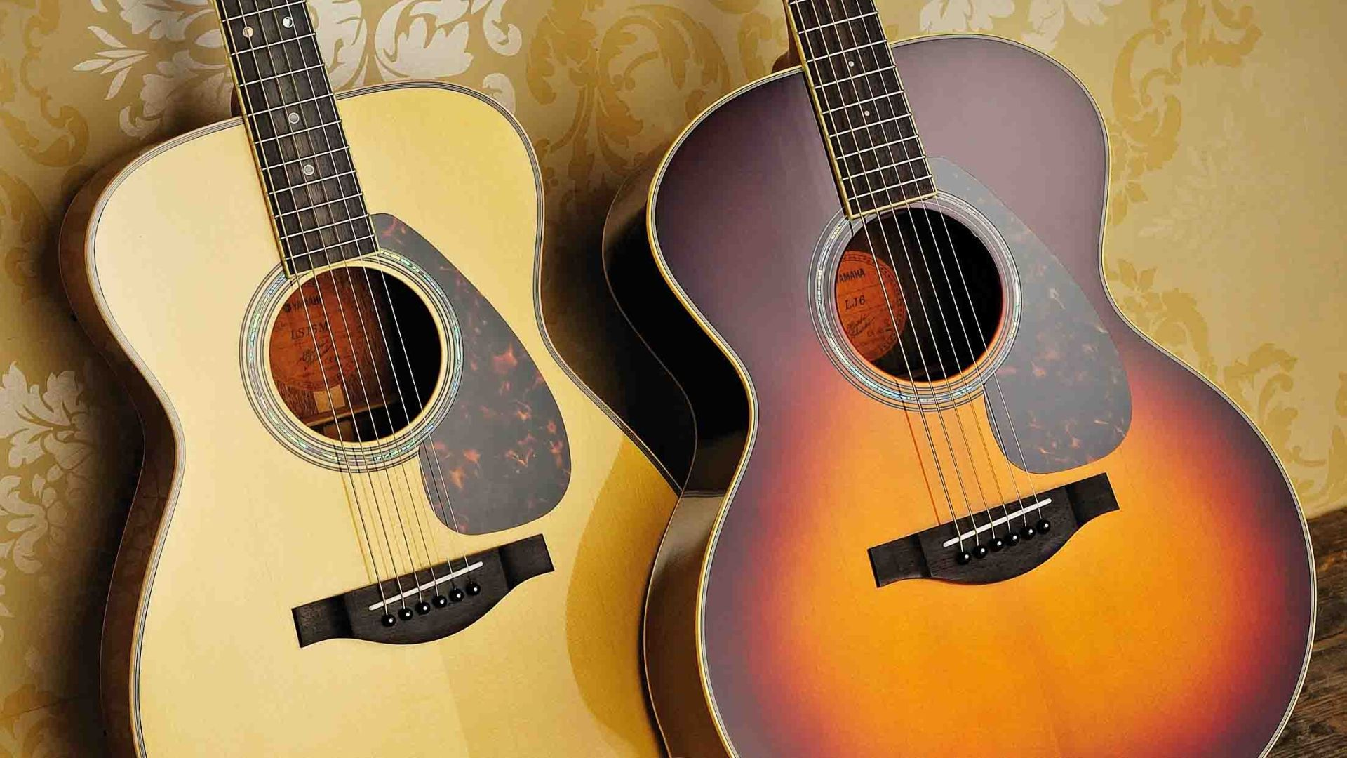 Two Acoustic Guitar, New Wallpaper