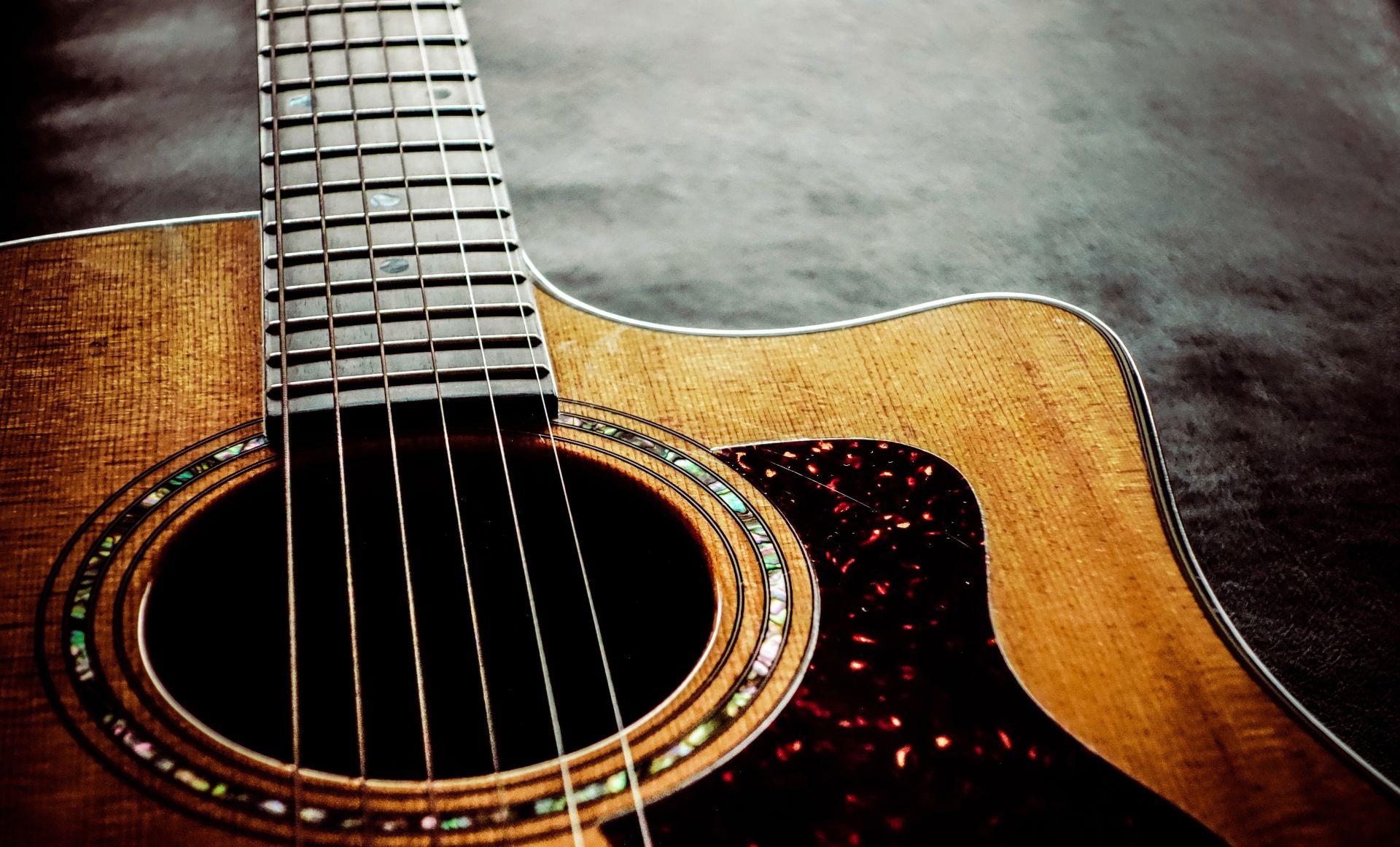 Acoustic Guitar strings, Nice Wallpaper