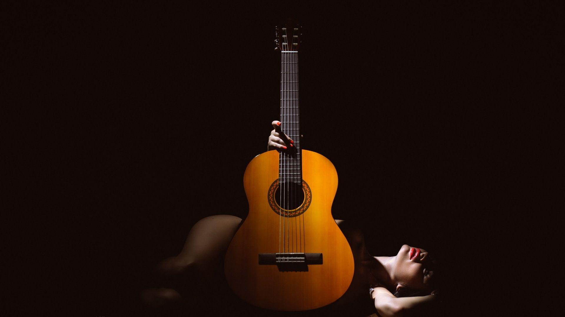 Acoustic Guitar, PC Wallpaper