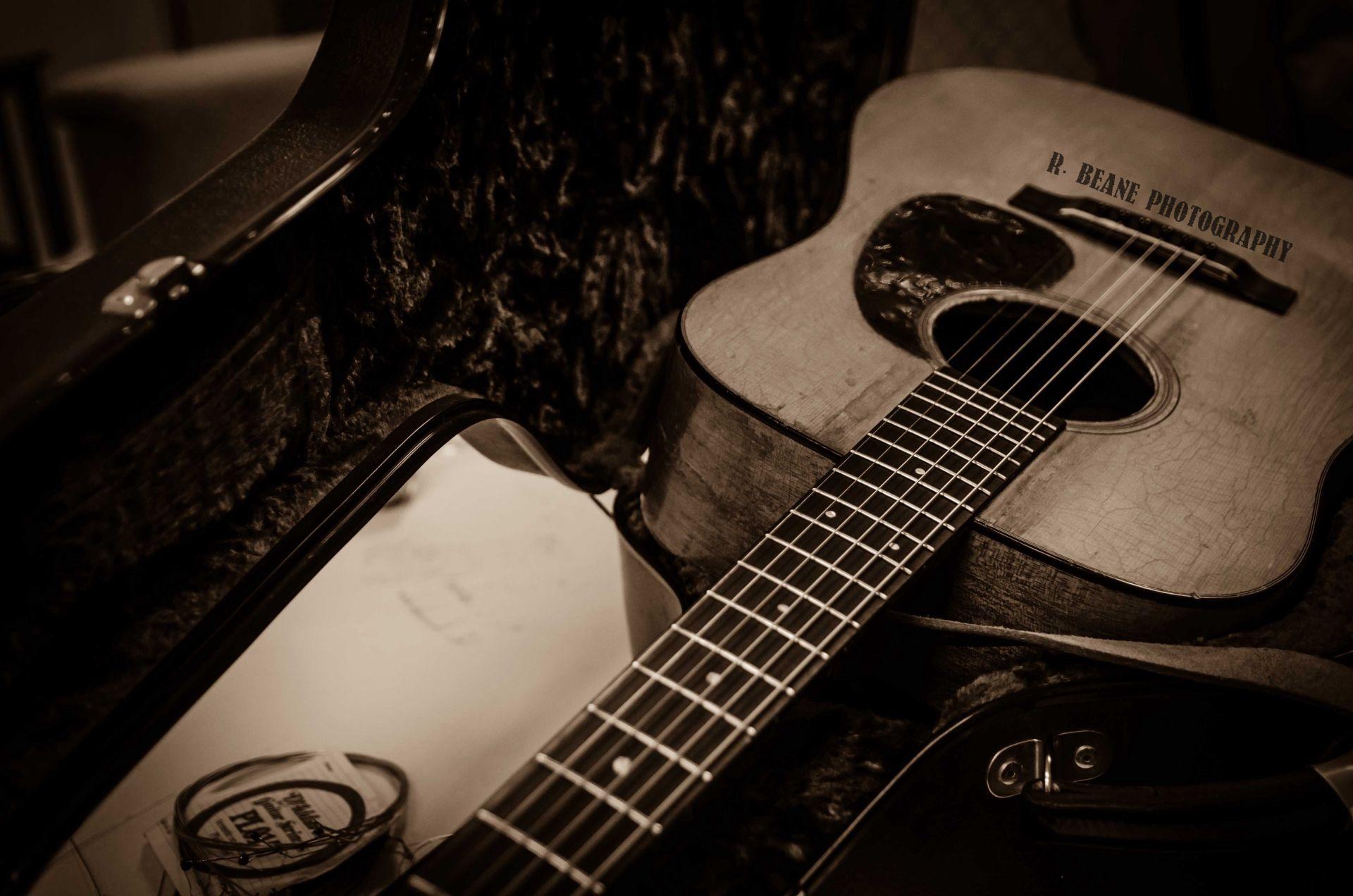 Acoustic Guitar, Download Wallpaper
