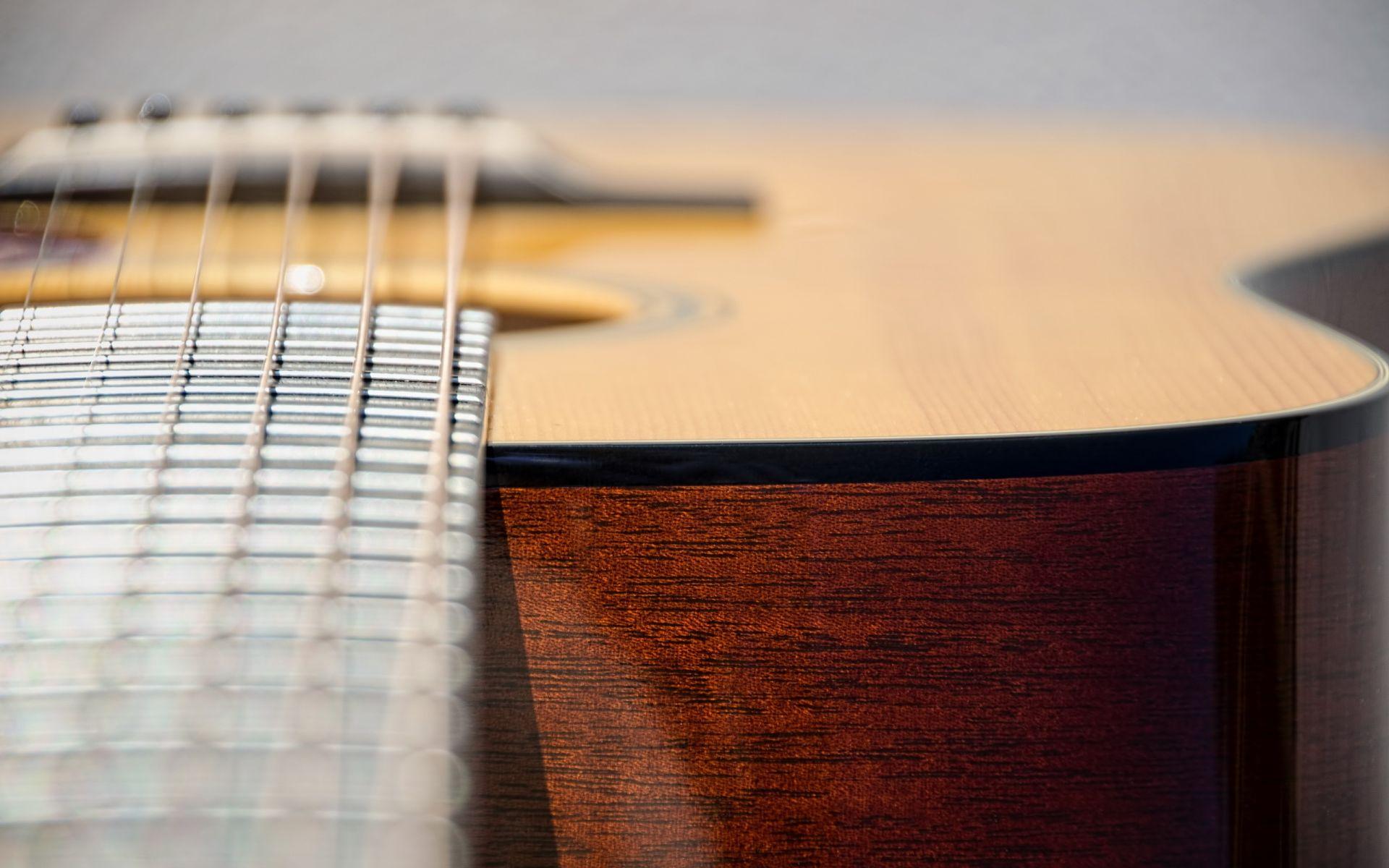 Acoustic Guitar, Picture