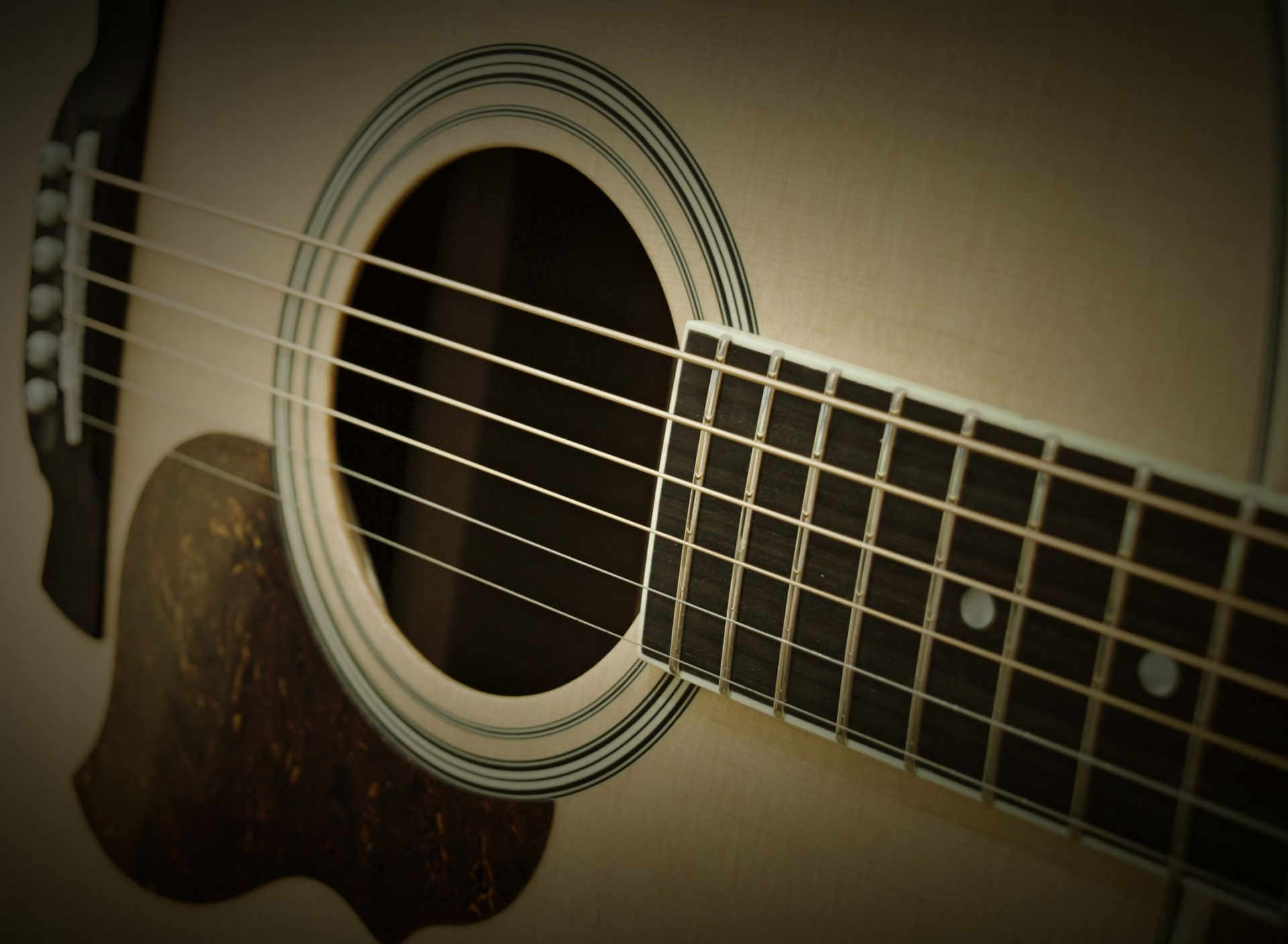 Acoustic Guitar strings, Free Wallpaper and Background