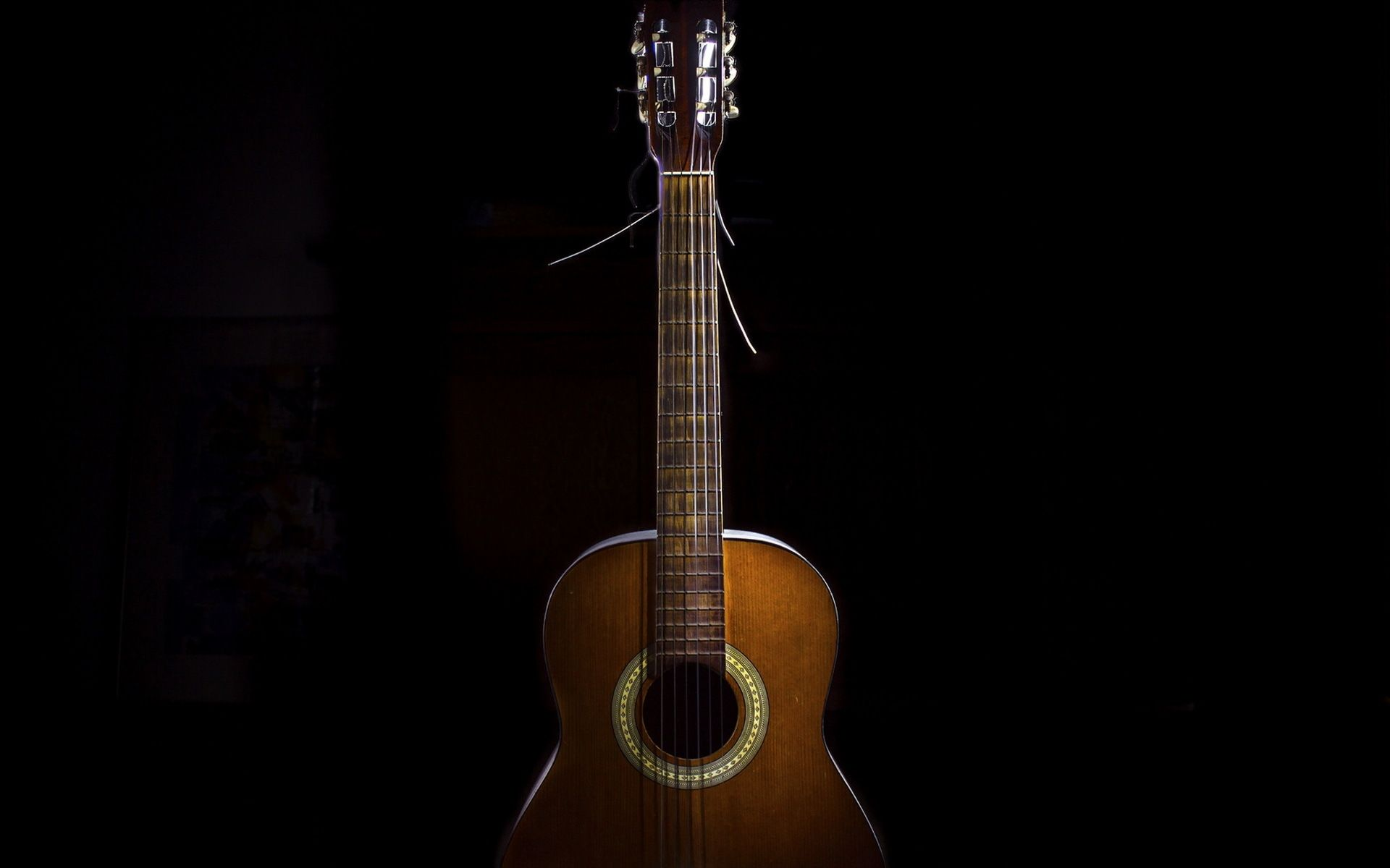 One Acoustic Guitar, Picture