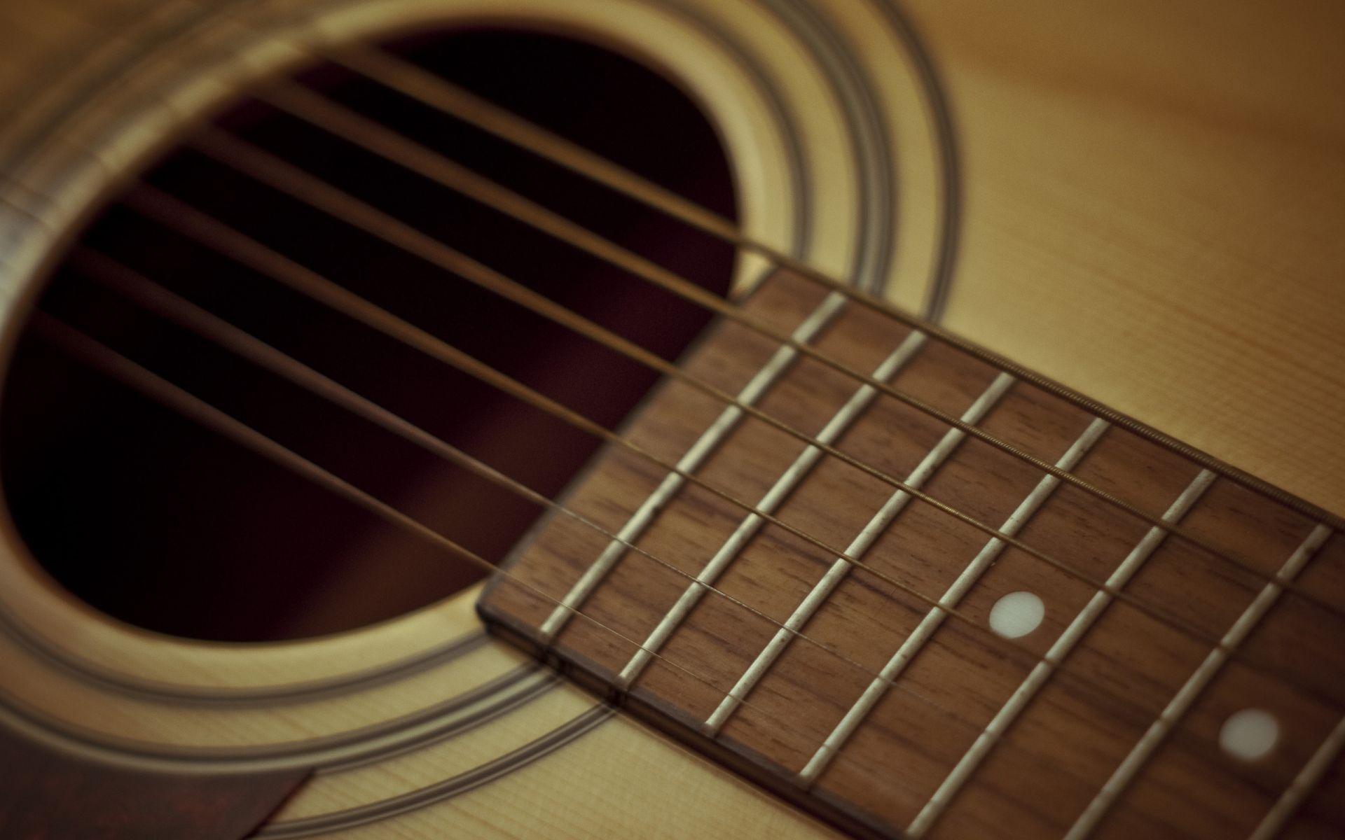Acoustic Guitar strings, Pic