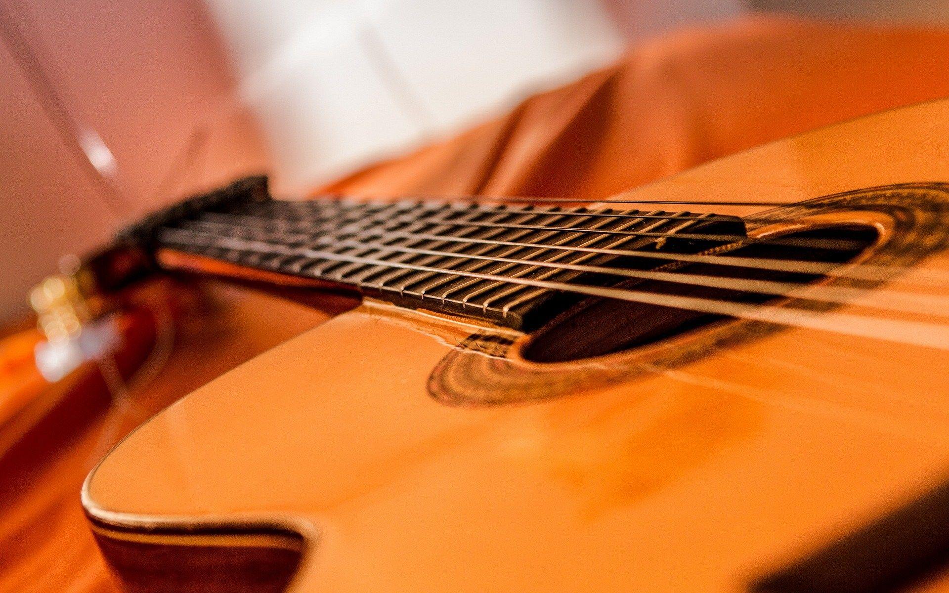 Acoustic Guitar, Wallpaper