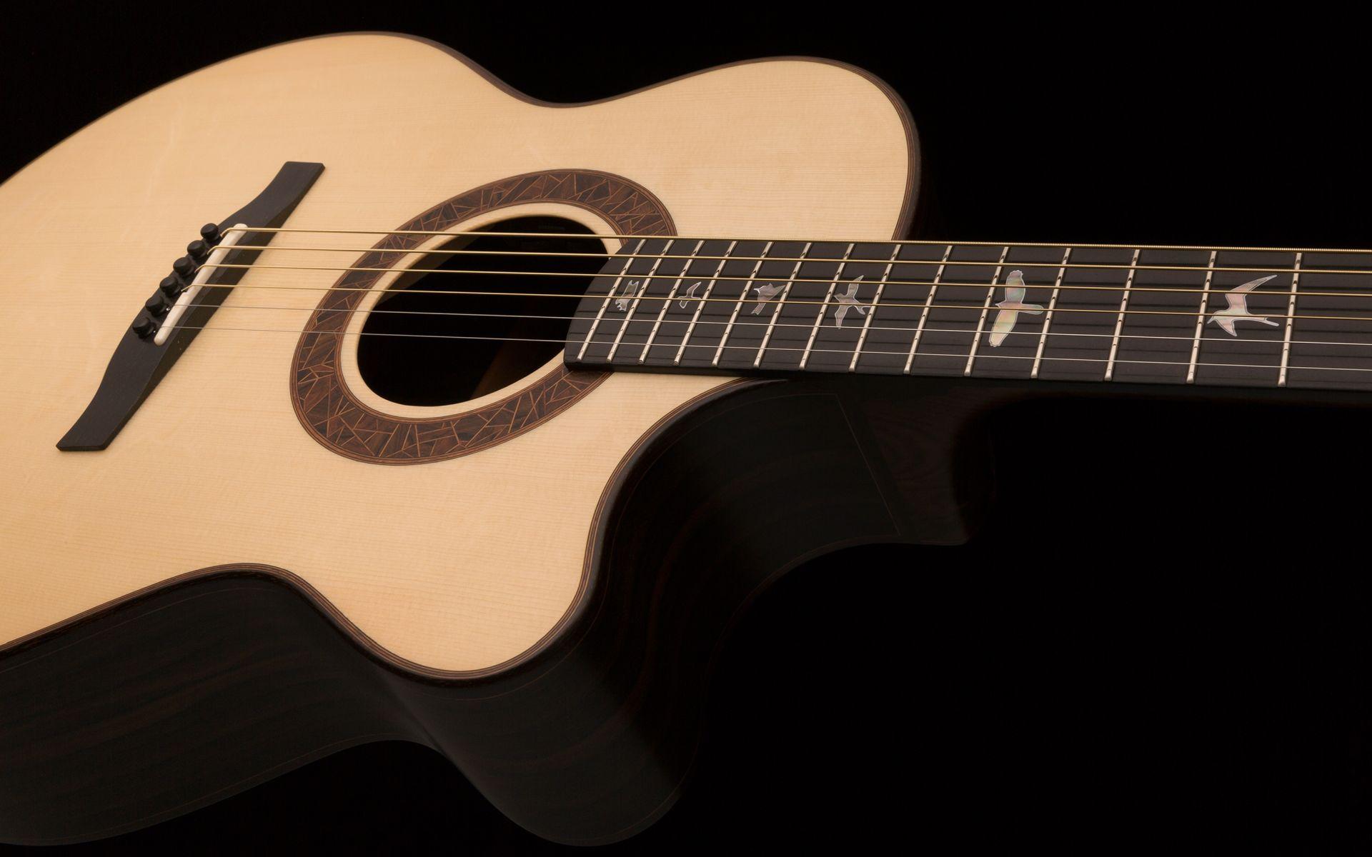 Acoustic Guitar, Full HD Wallpaper