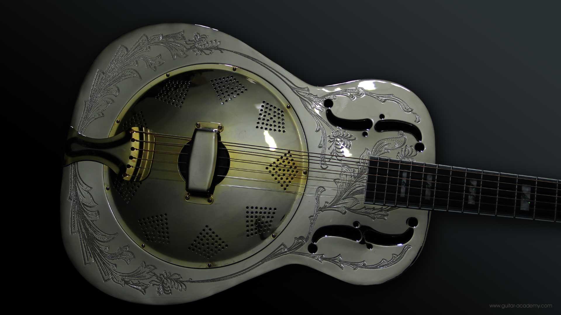 Acoustic Guitar, Wallpaper Image
