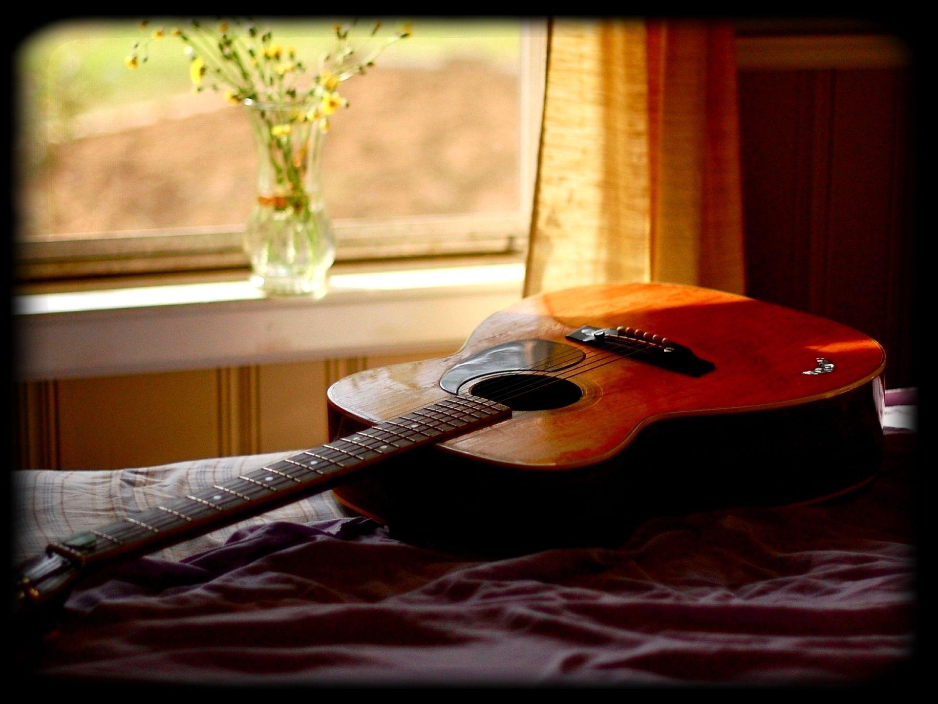 Acoustic Guitar, HD Wallpaper 1080