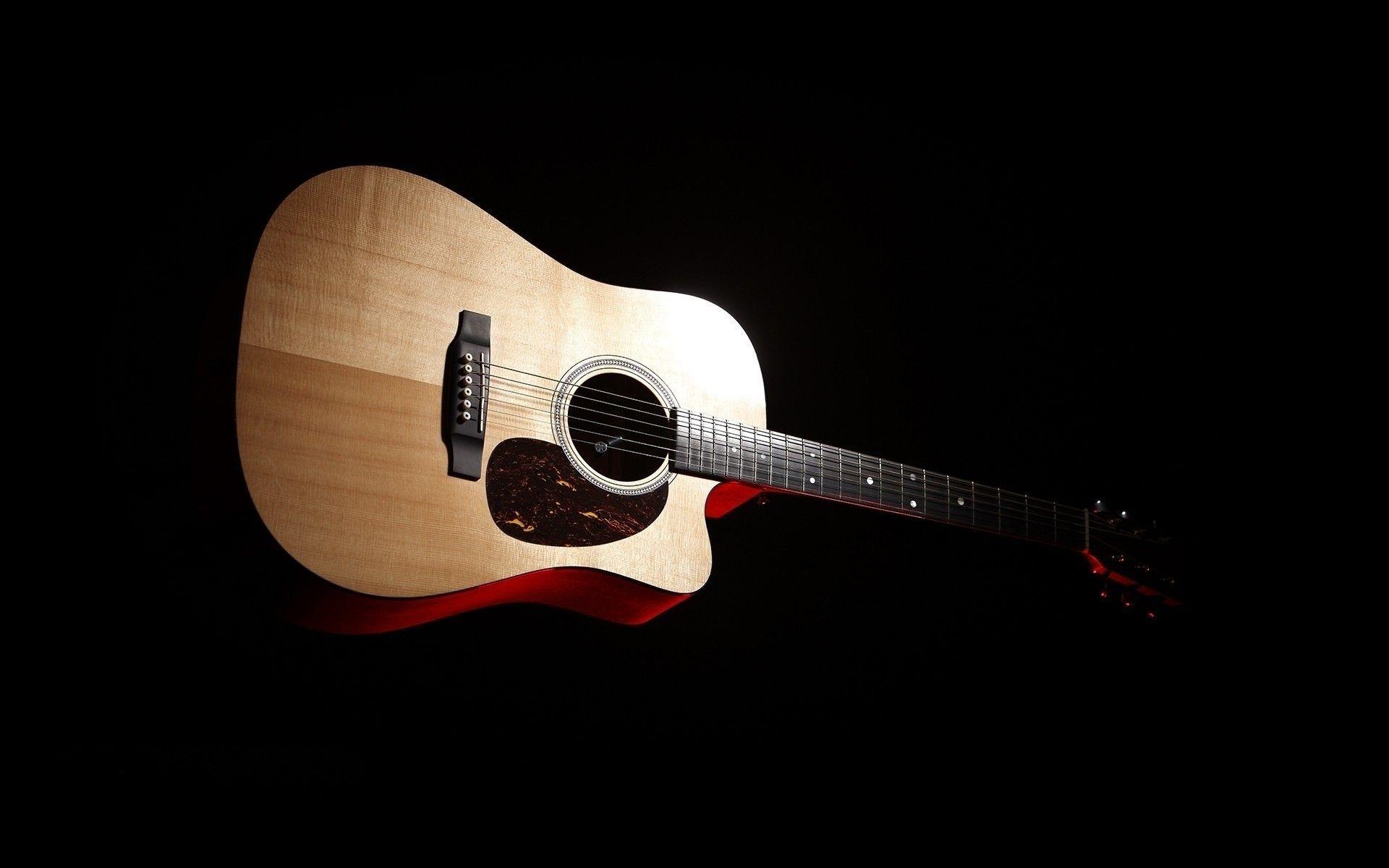 Acoustic Guitar, Free Download Wallpaper