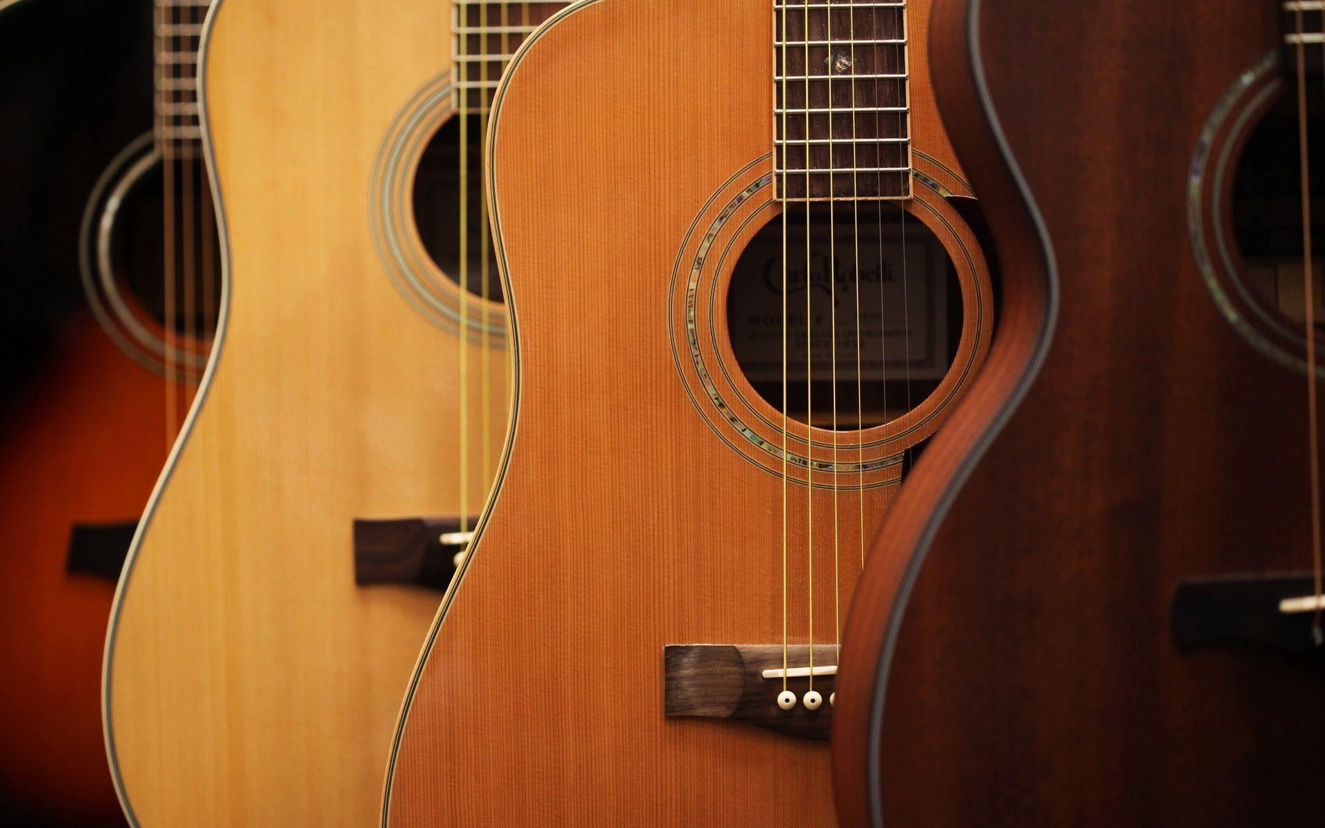 Acoustic Guitars wood, Best Wallpaper