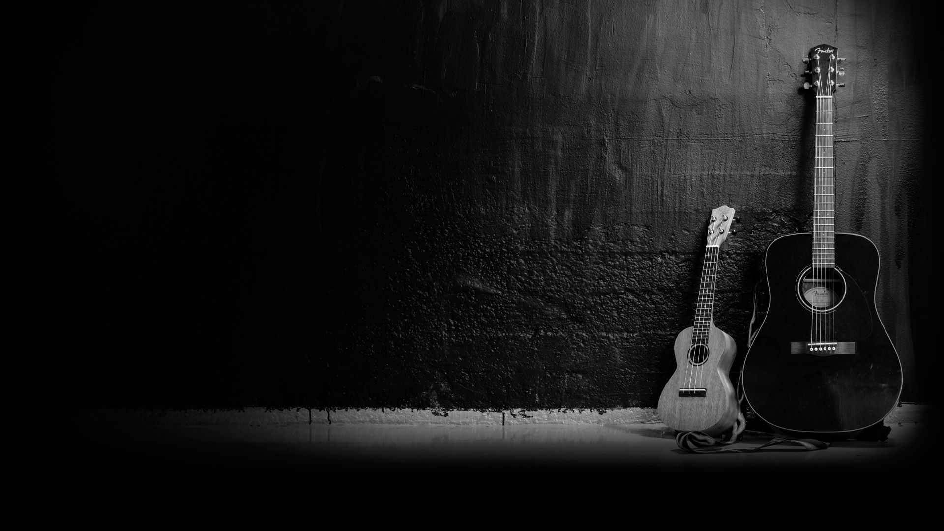 Acoustic Guitar, Background Wallpaper