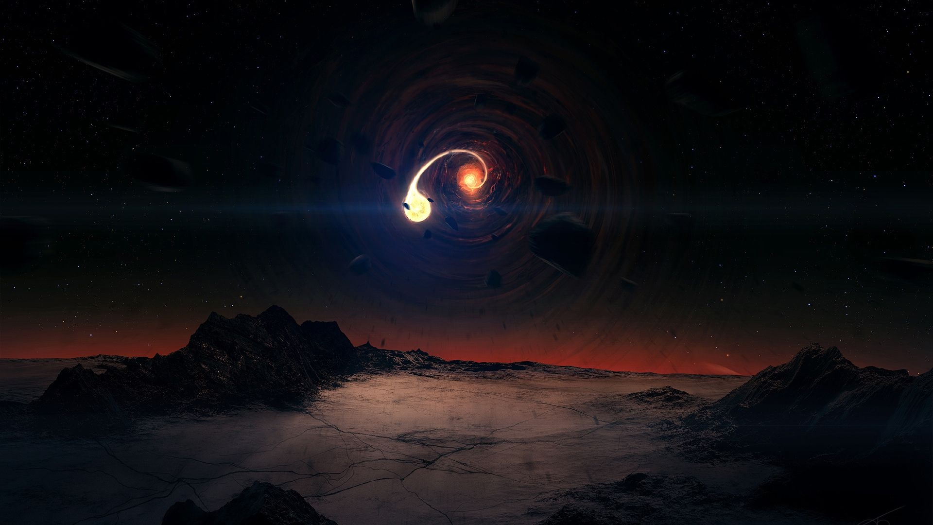40 Black Hole Wallpapers Wallpaperboat