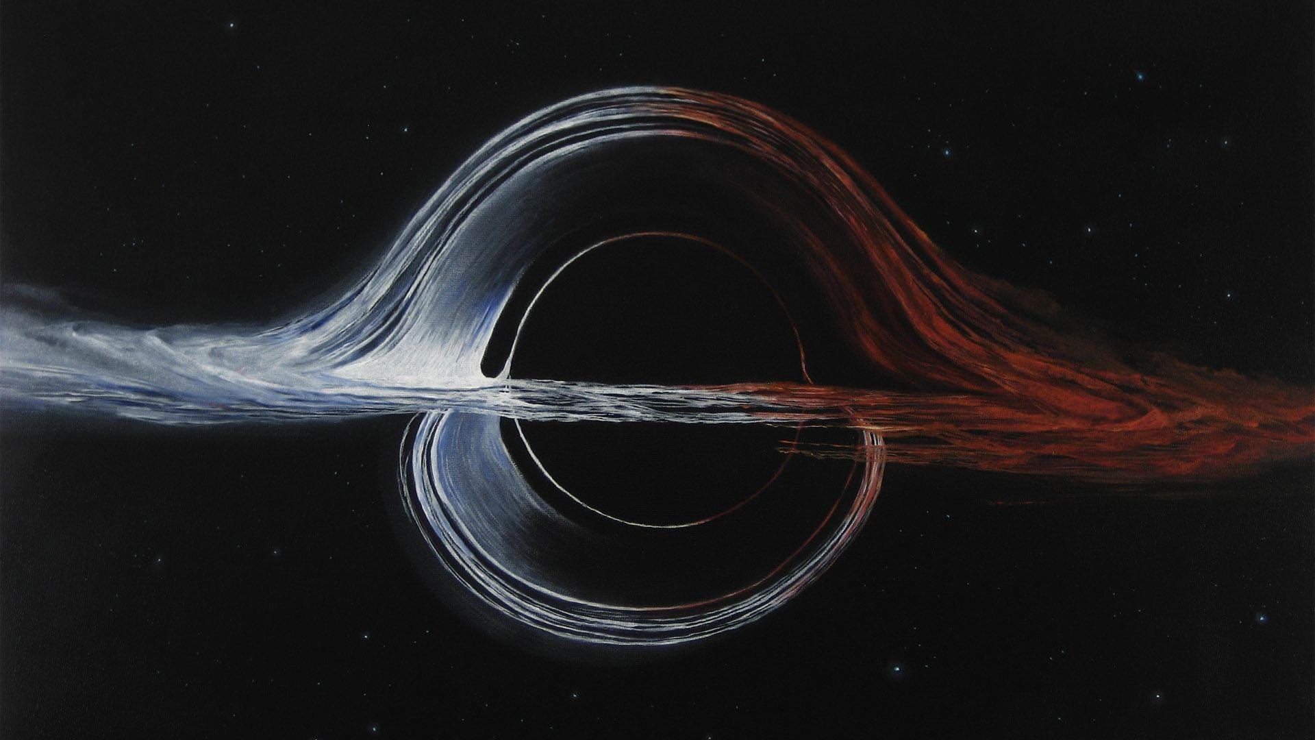 Black Hole Interstellar, Wallpaper Image
