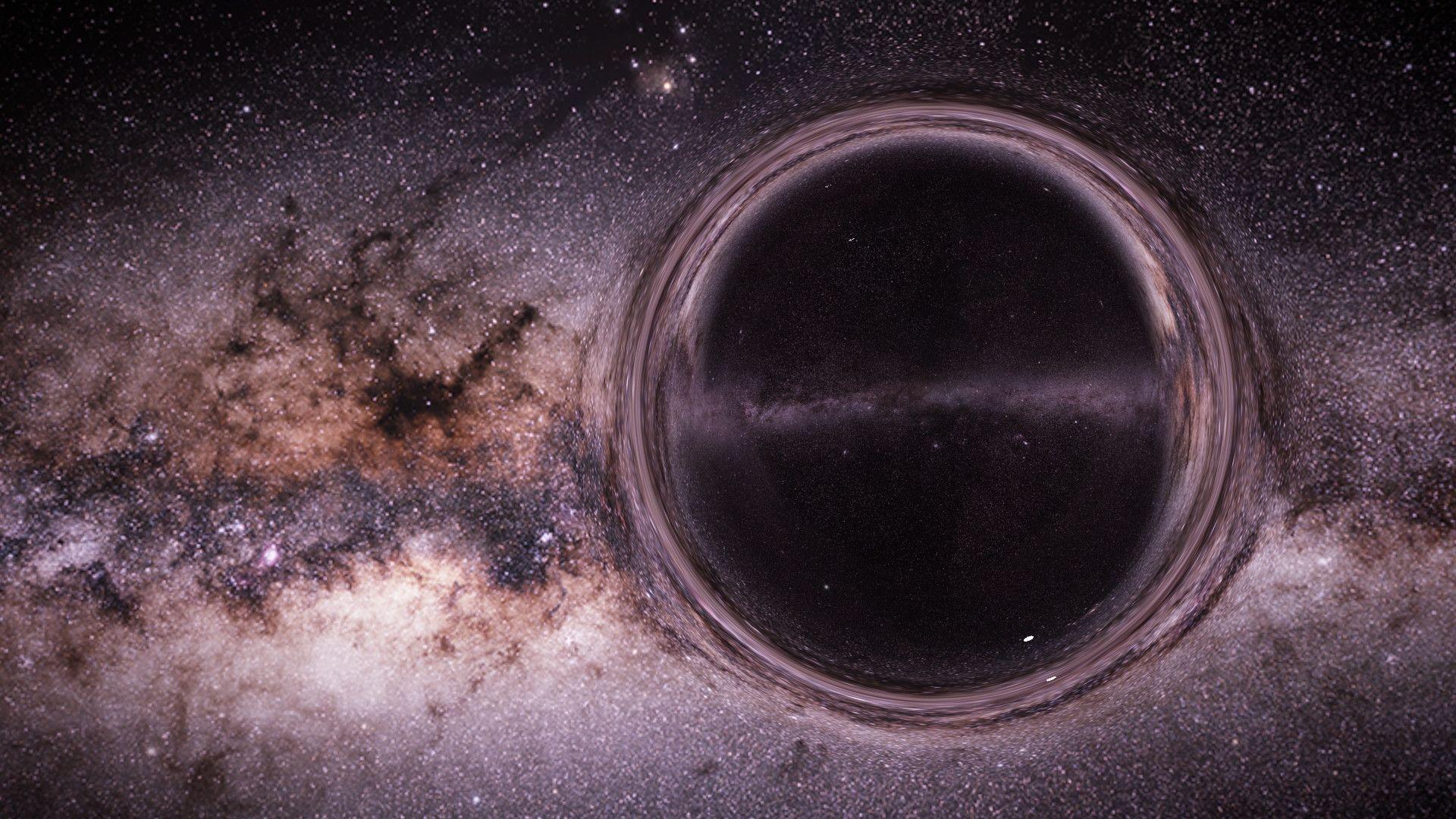 Black Hole, 1080p Wallpaper