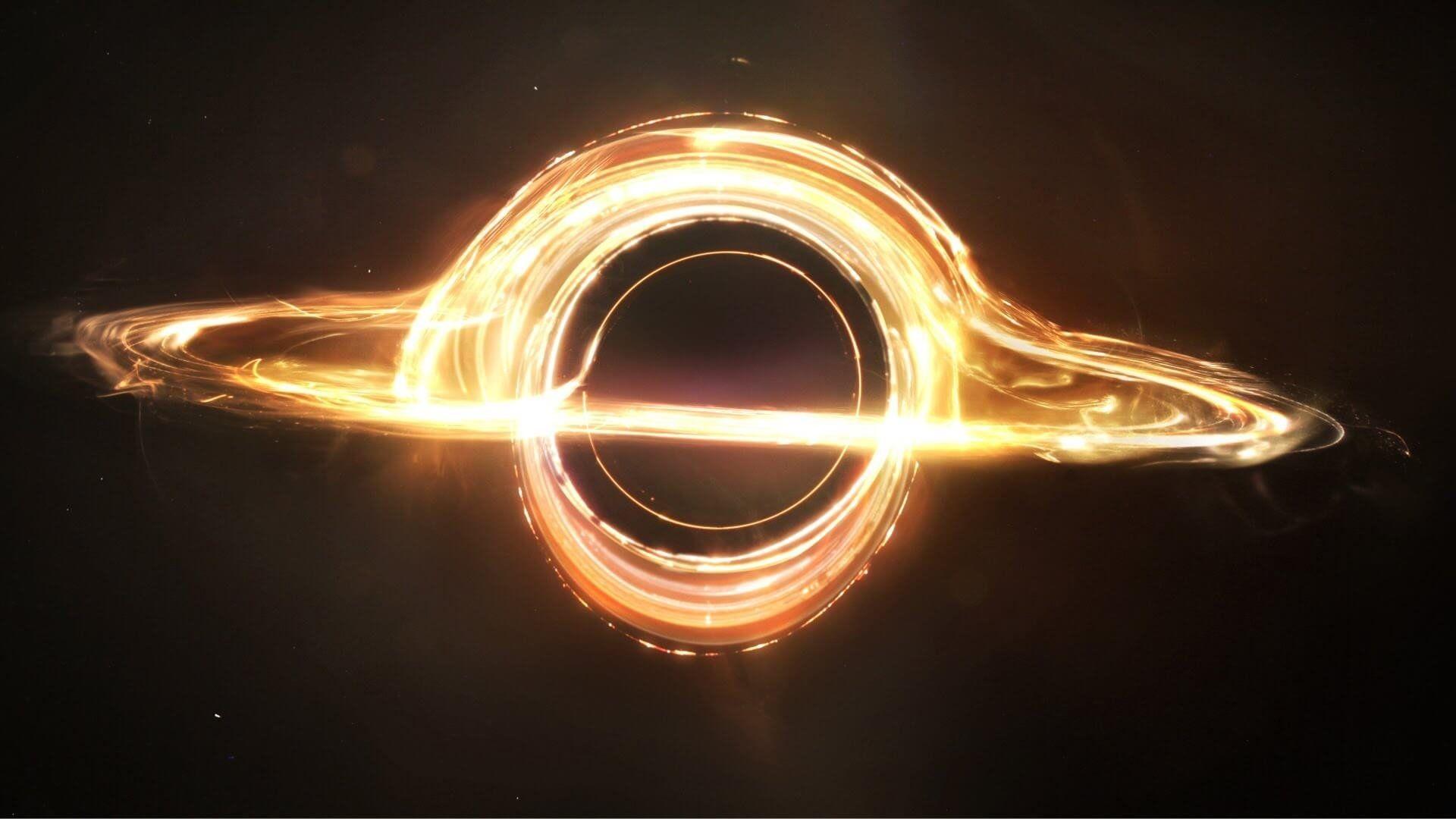 Black Hole Interstellar, Download Wallpaper