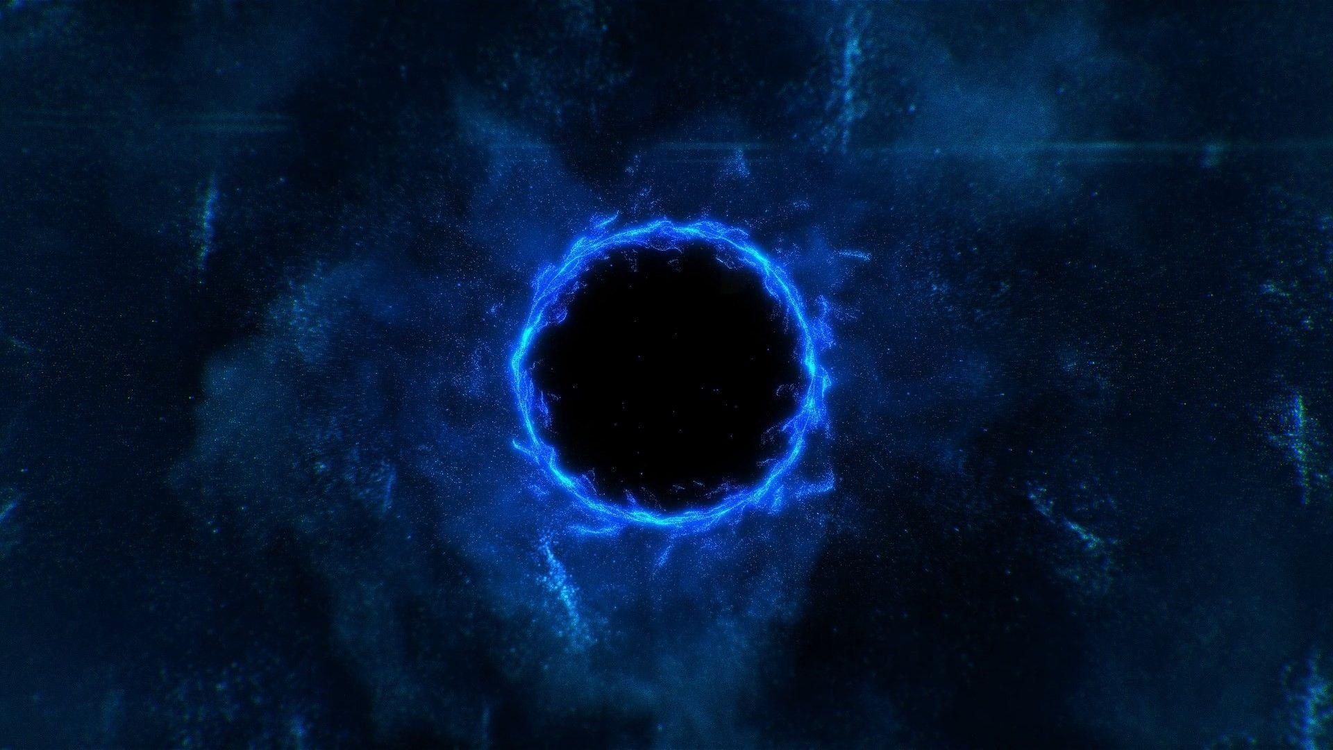 Black Hole, Full HD Wallpaper
