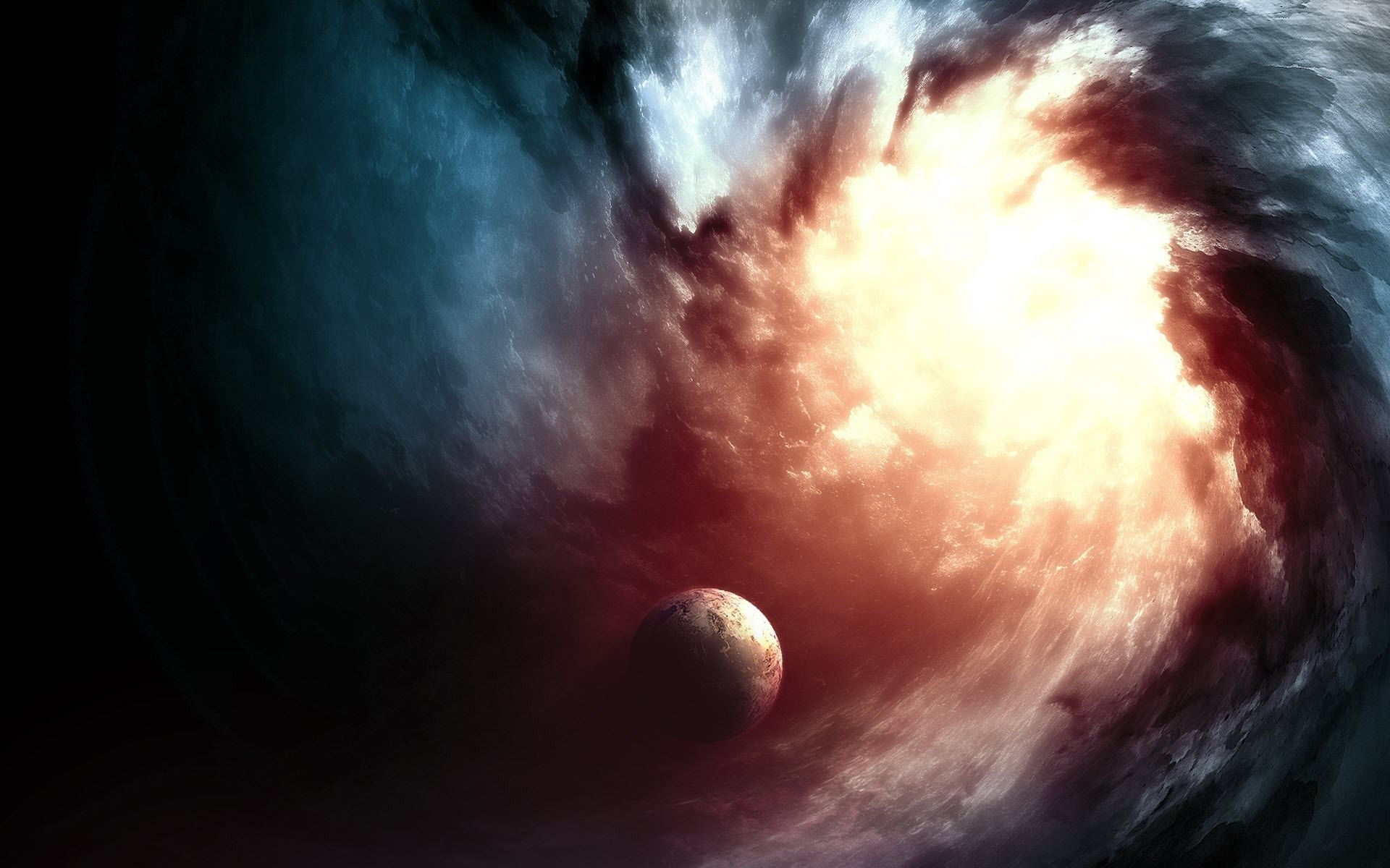 Black Hole, Free Wallpaper and Background