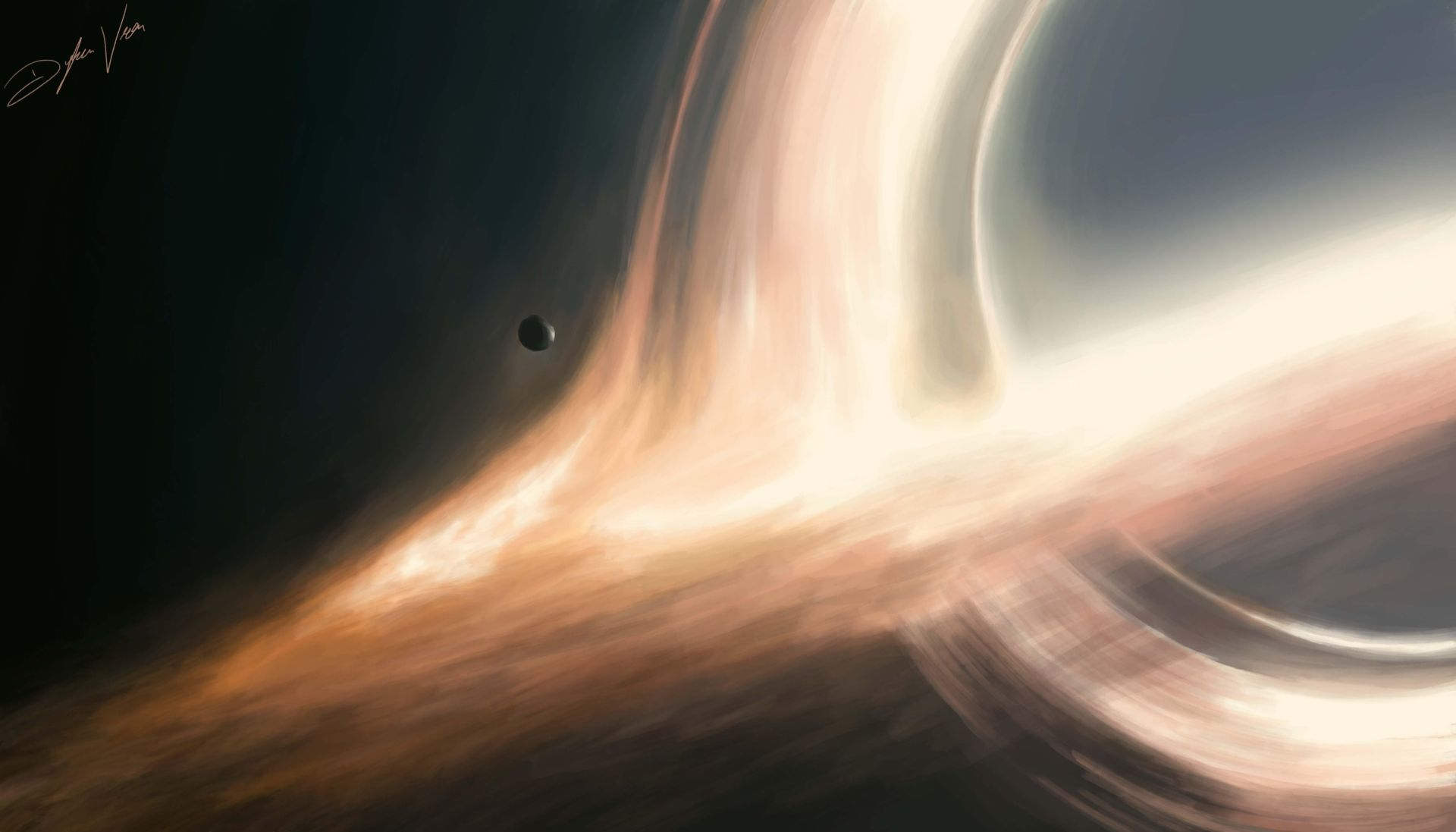 14 Black Hole Interstellar Wallpapers Wallpaperboat