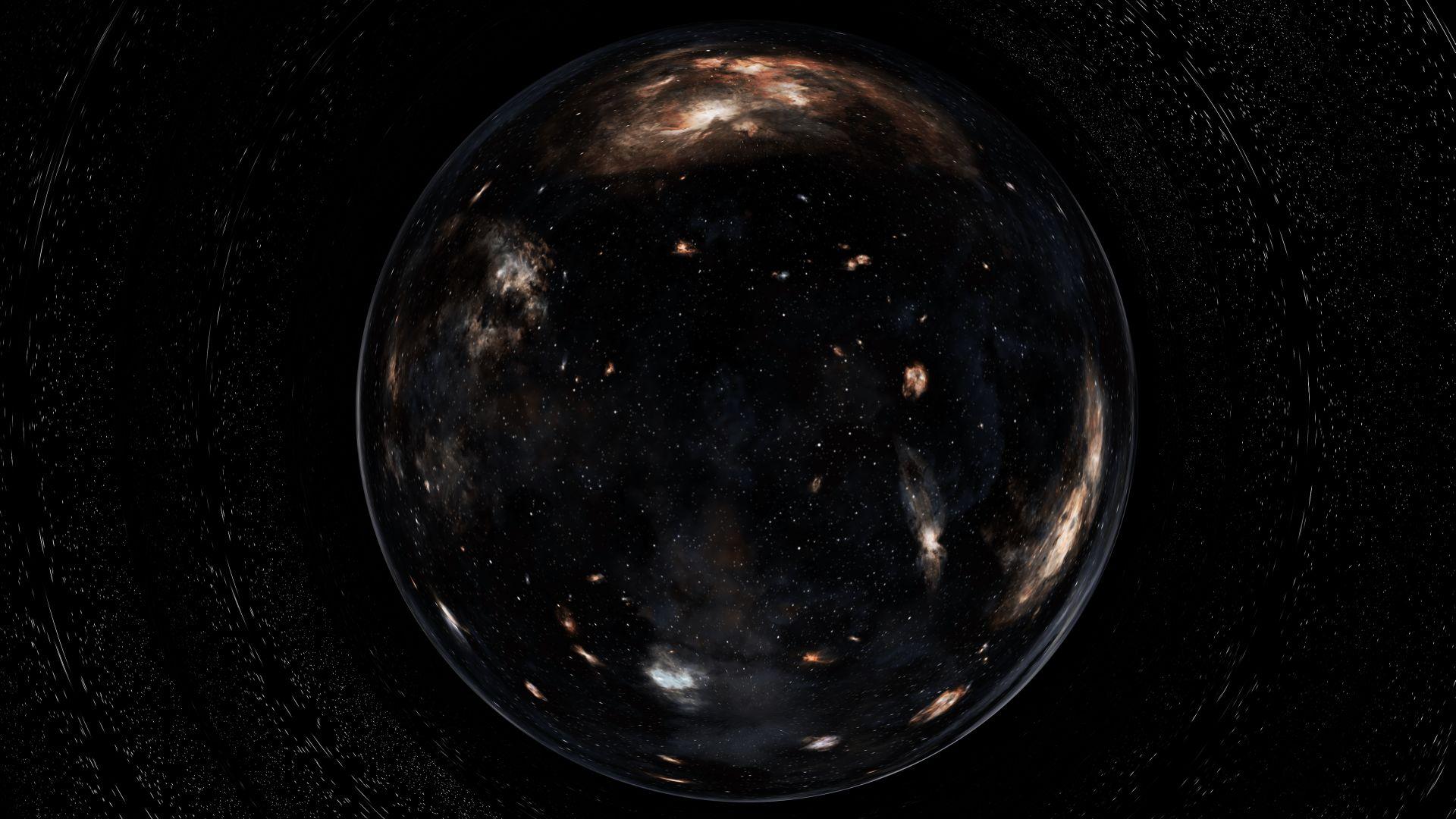 Black Hole Interstellar, PC Wallpaper
