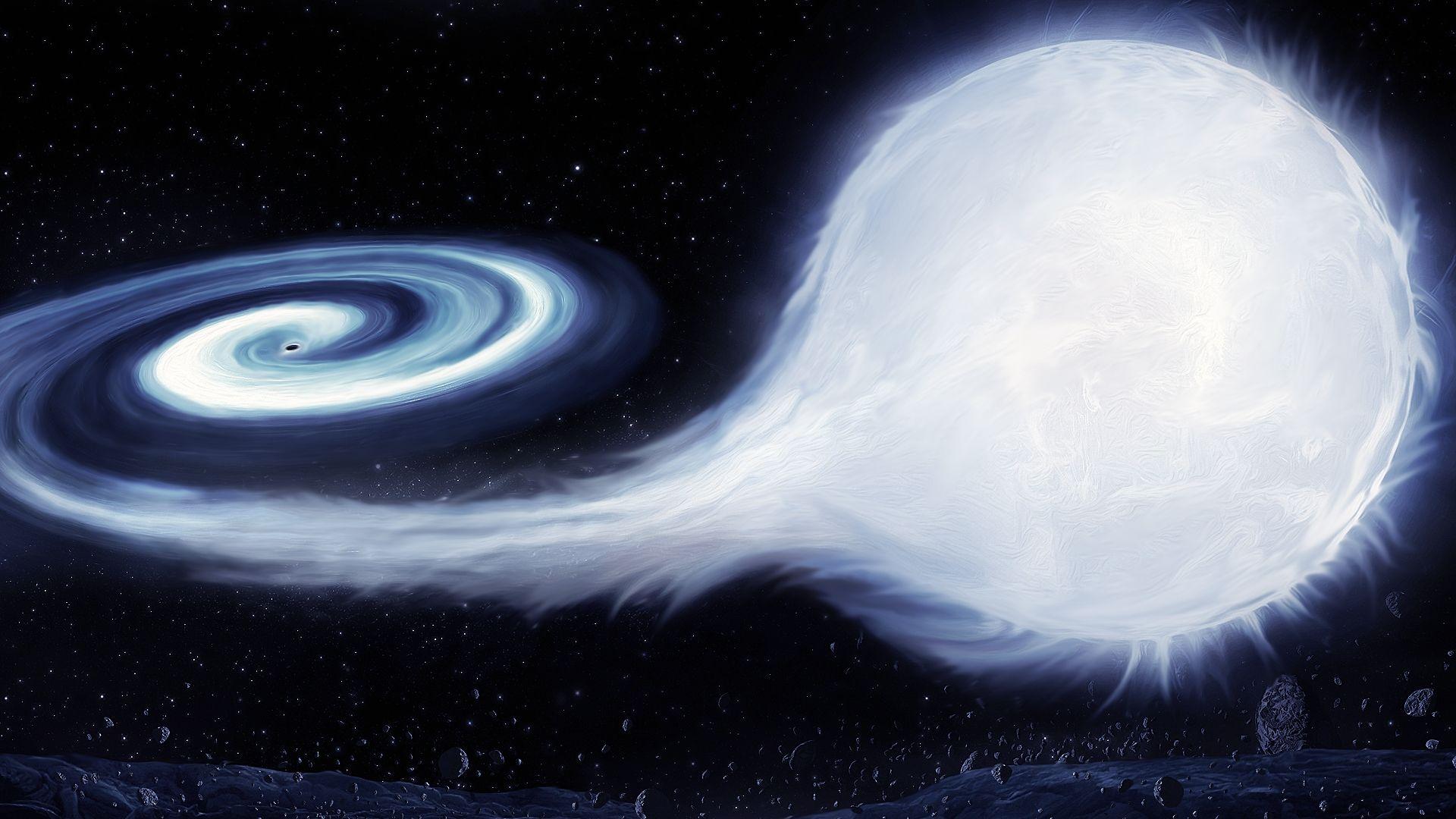 Black Hole, Cool Wallpaper