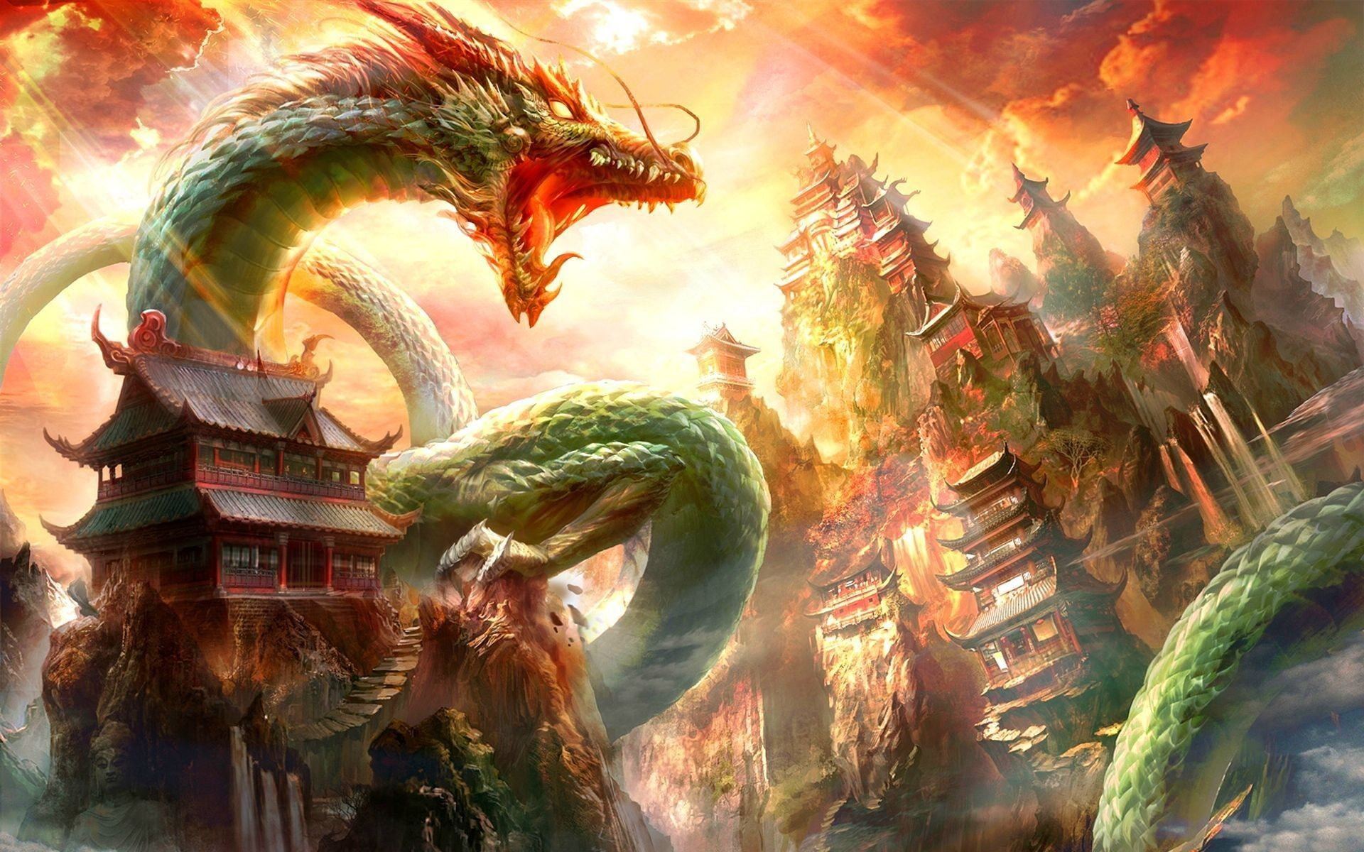 walpaper dragon