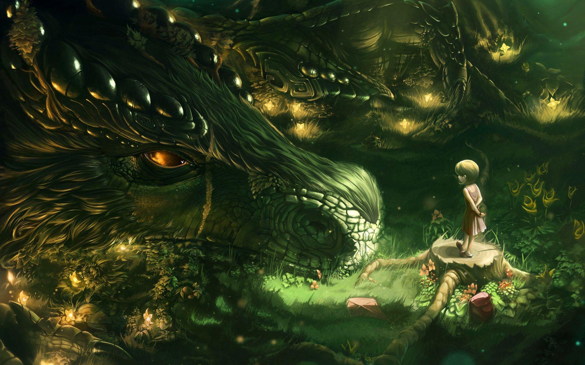 dragon wallpaper art