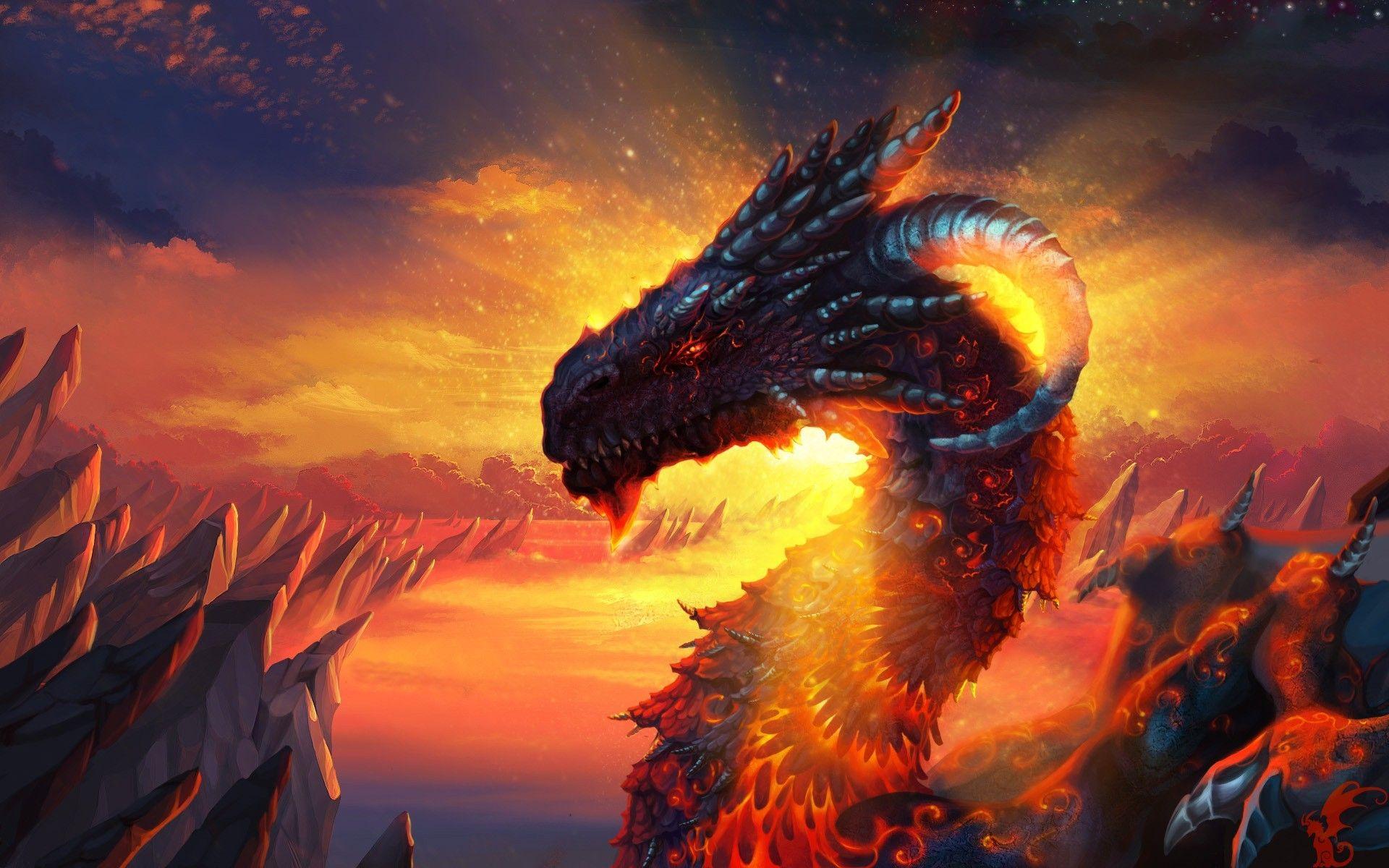 dragon wallpaper 3d
