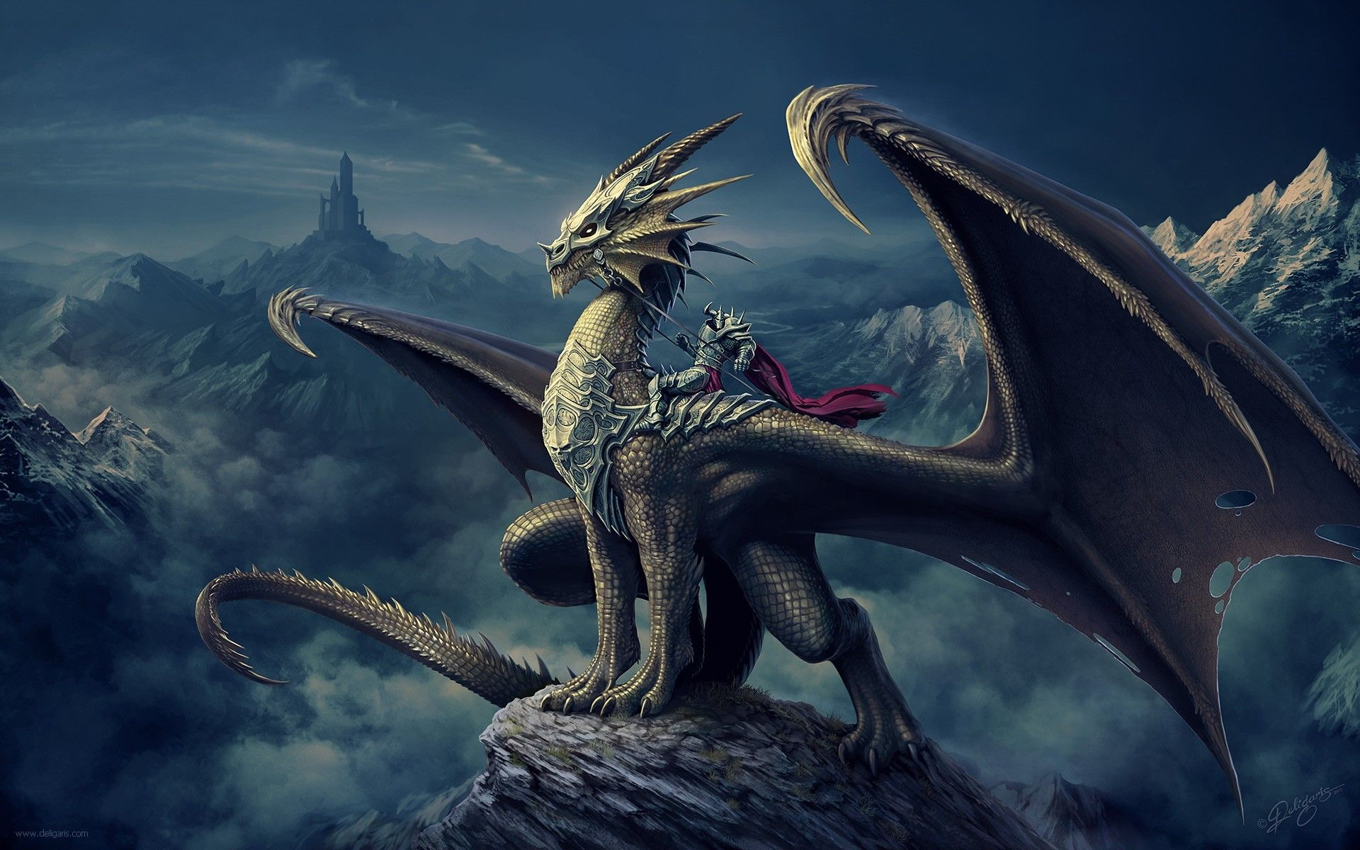 dragon desktop background