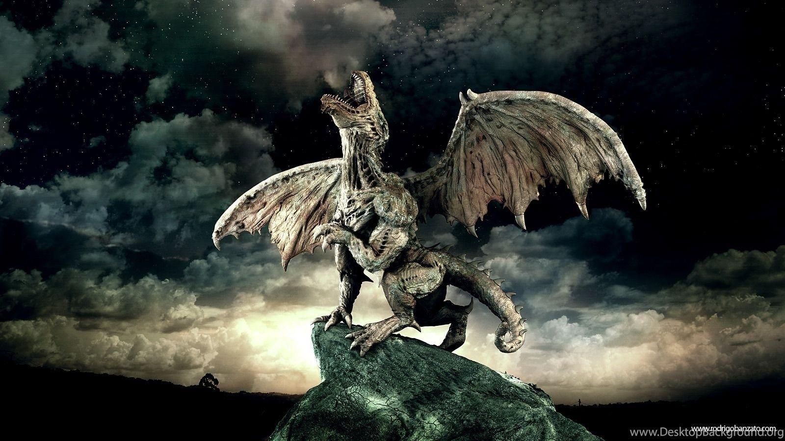 roar 3d dragon walpaper