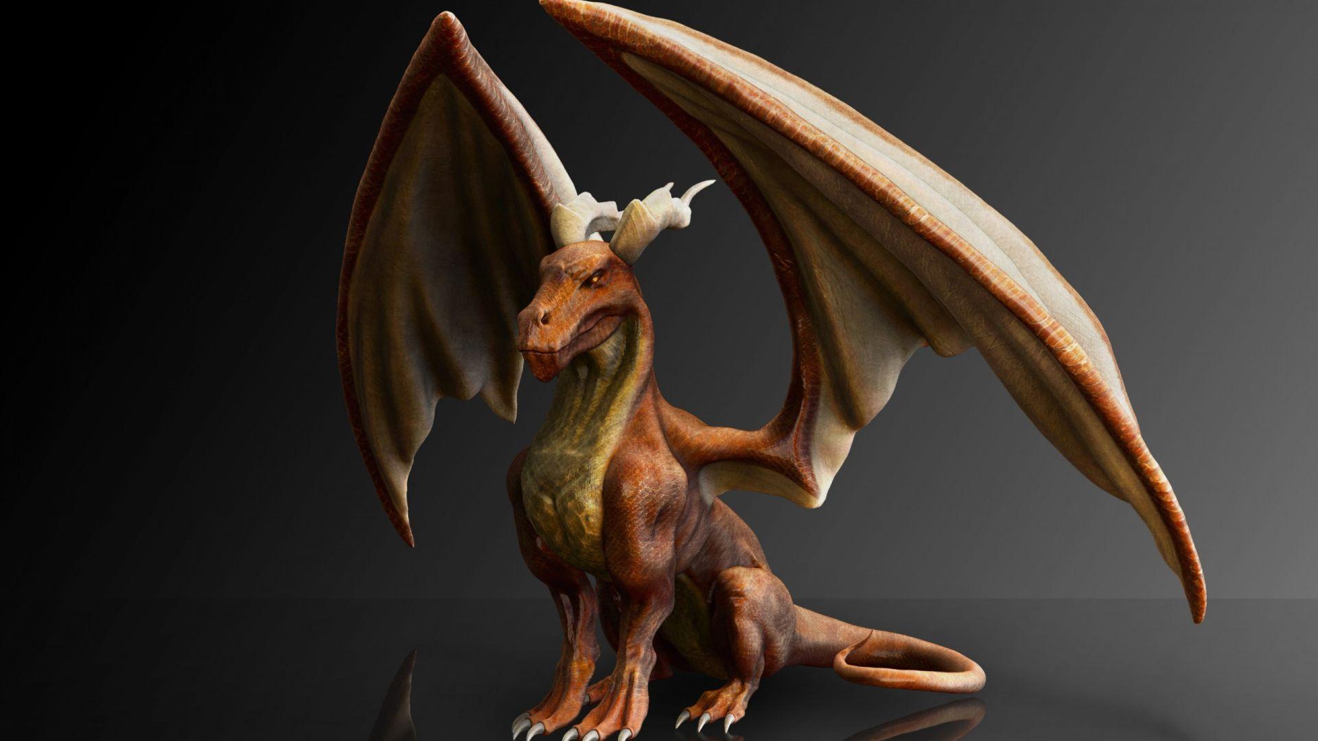 fantasy dragon 3d