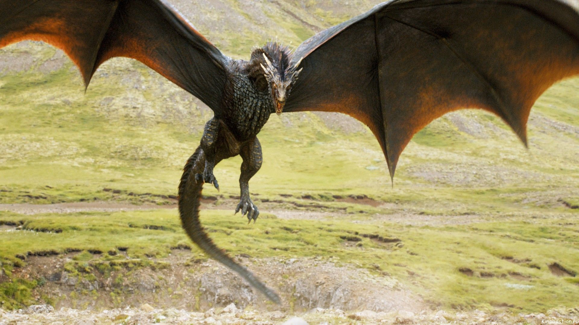 Game of Thrones 3d dragon rendered wallpaper