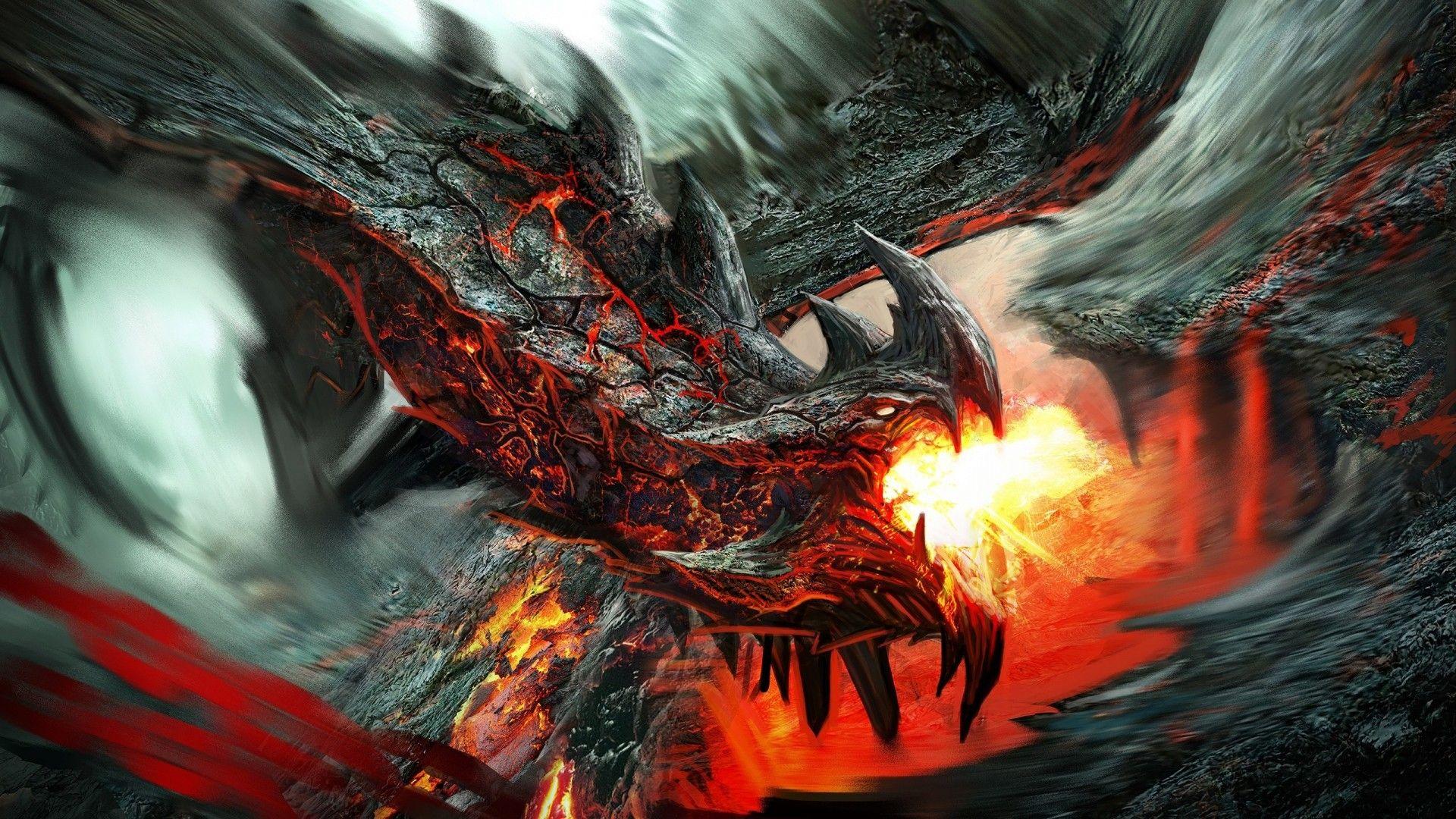 free fantasy dragon