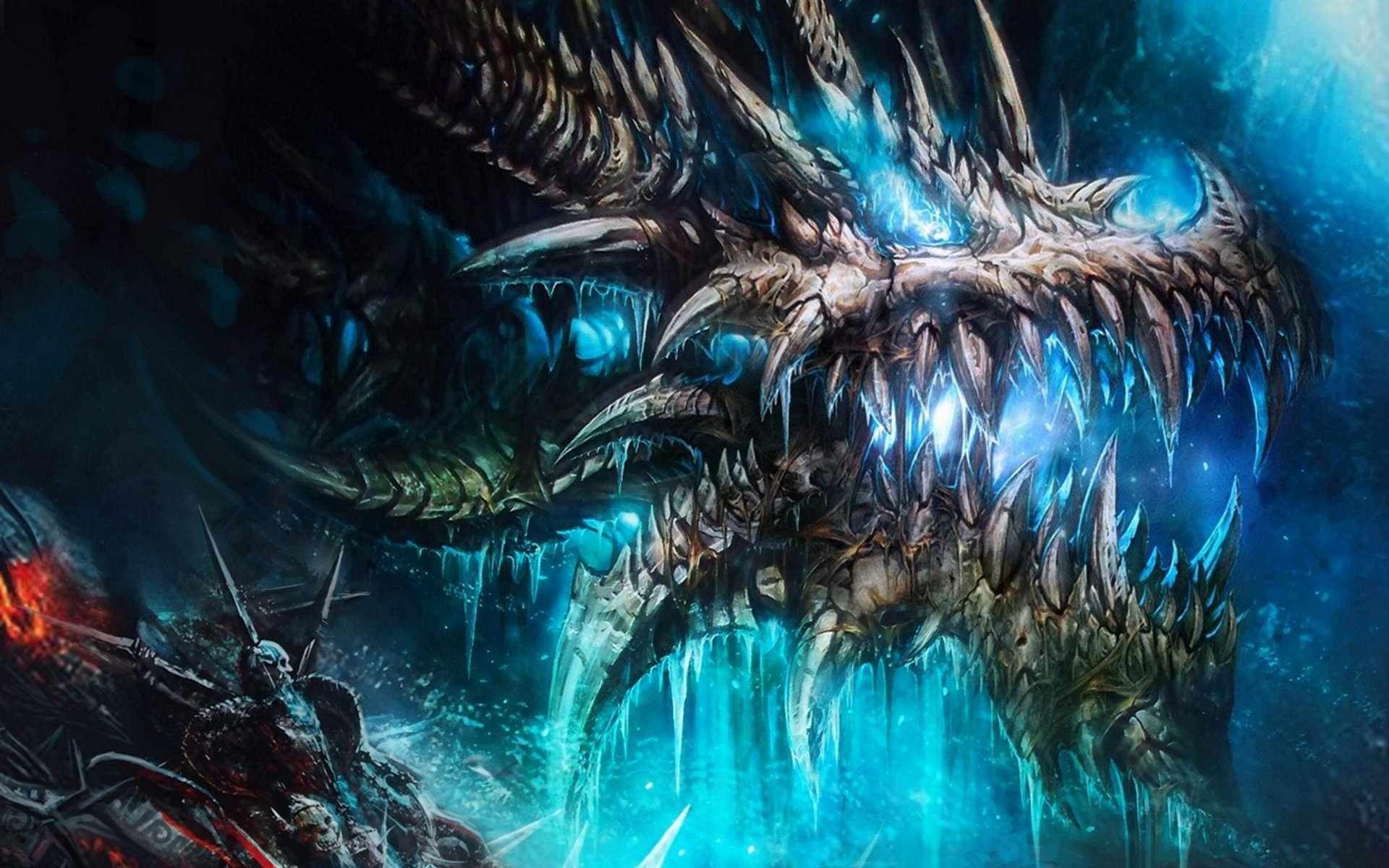 free fantasy dragon wallpaper