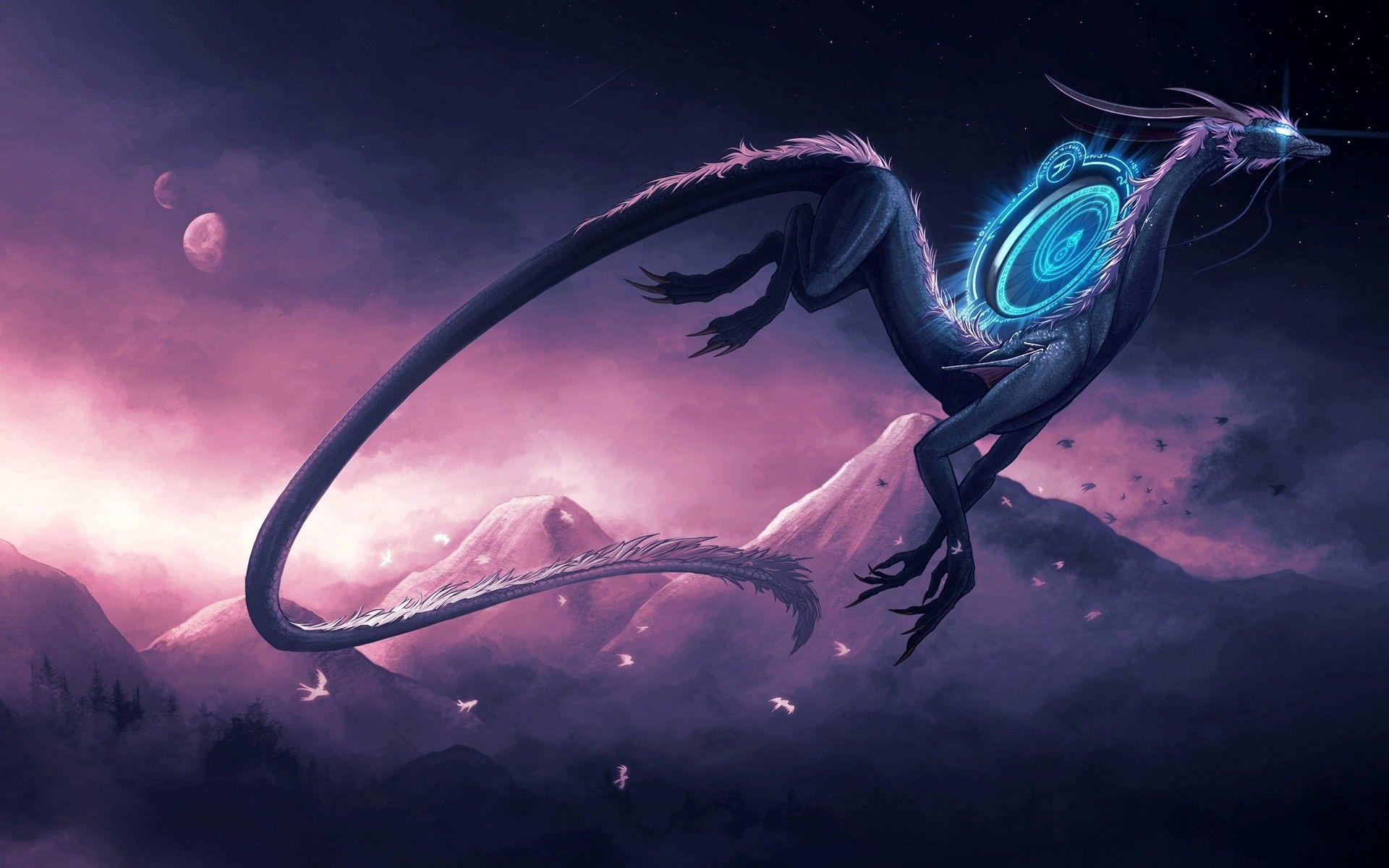dragon desktop image