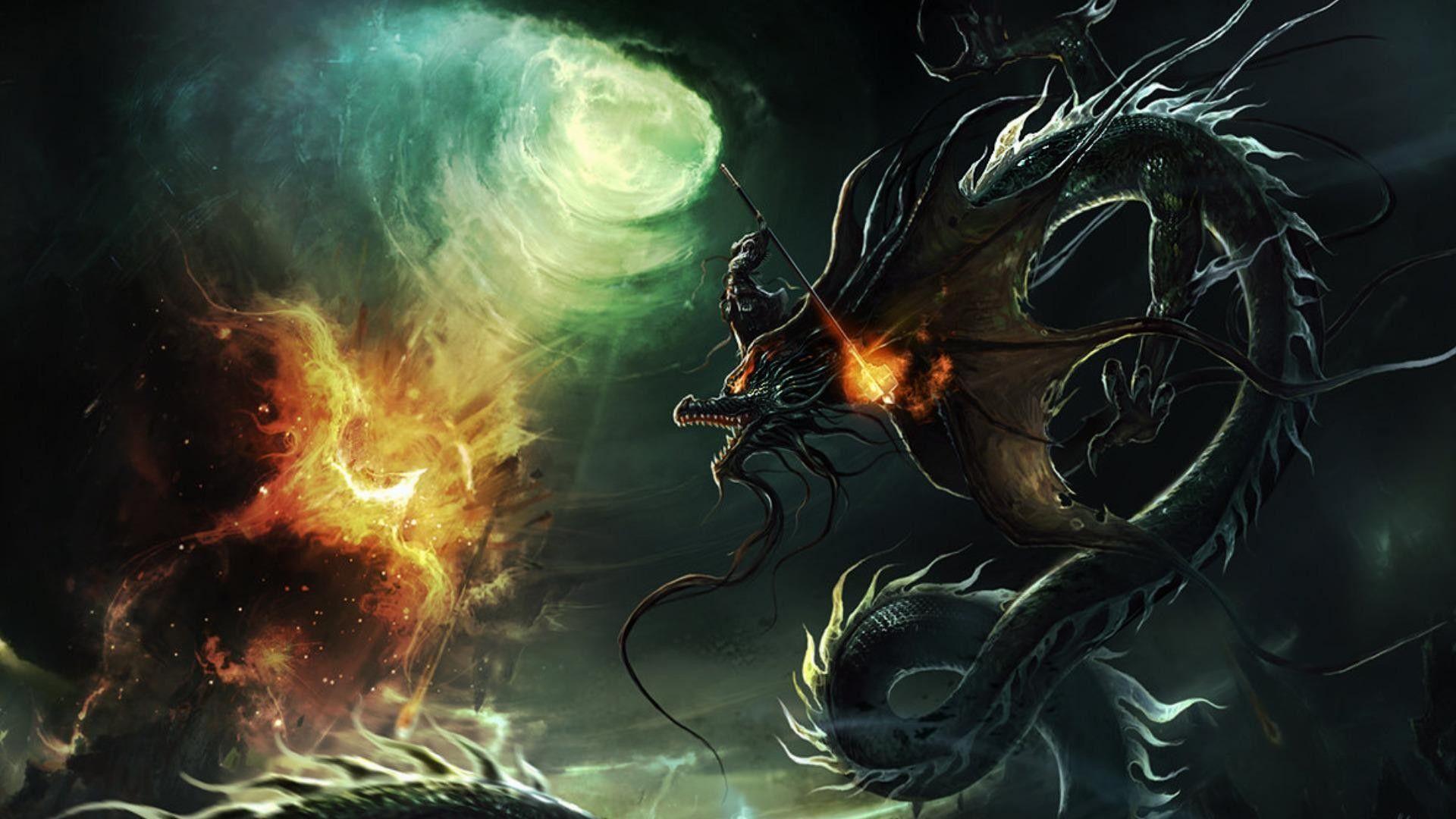 fire dragon pic