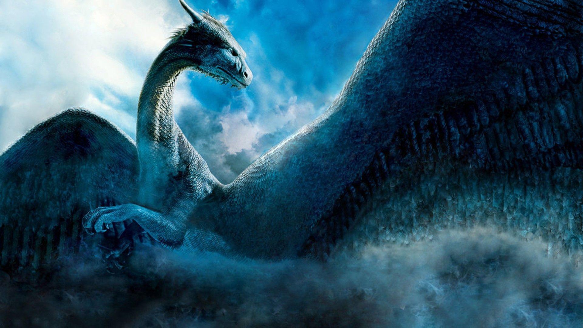 walpaper dragon blue