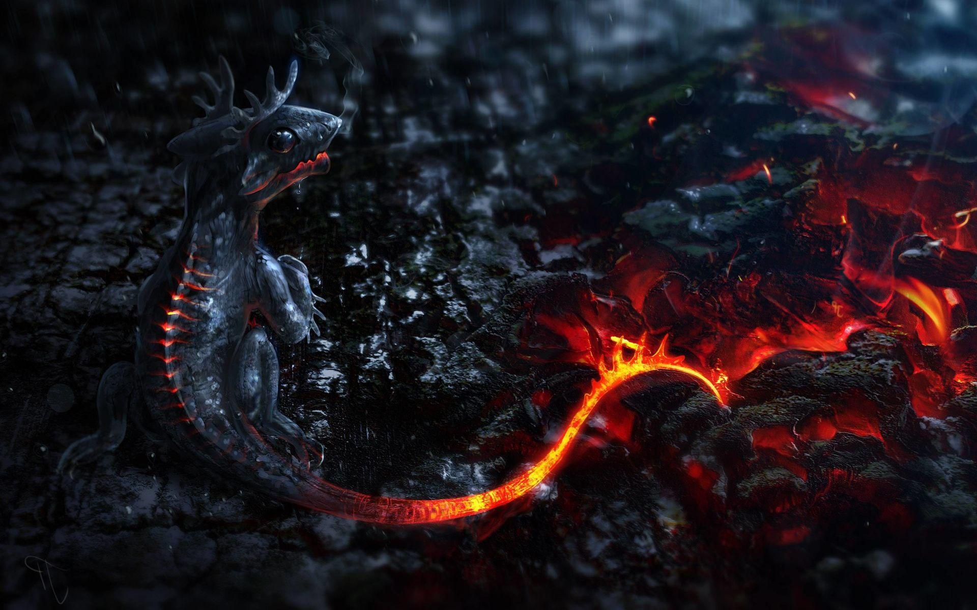 wallpaper dragon 3d