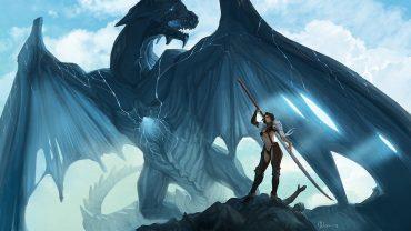 blue dragon screensaver