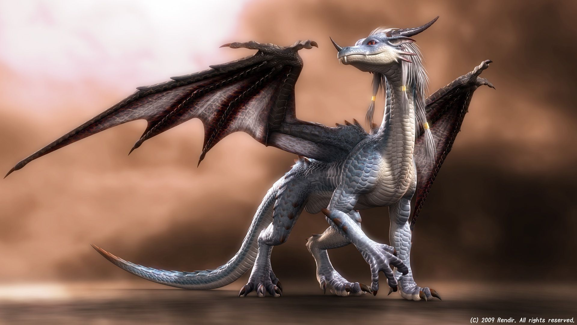 dragon cute wallpaper 3d