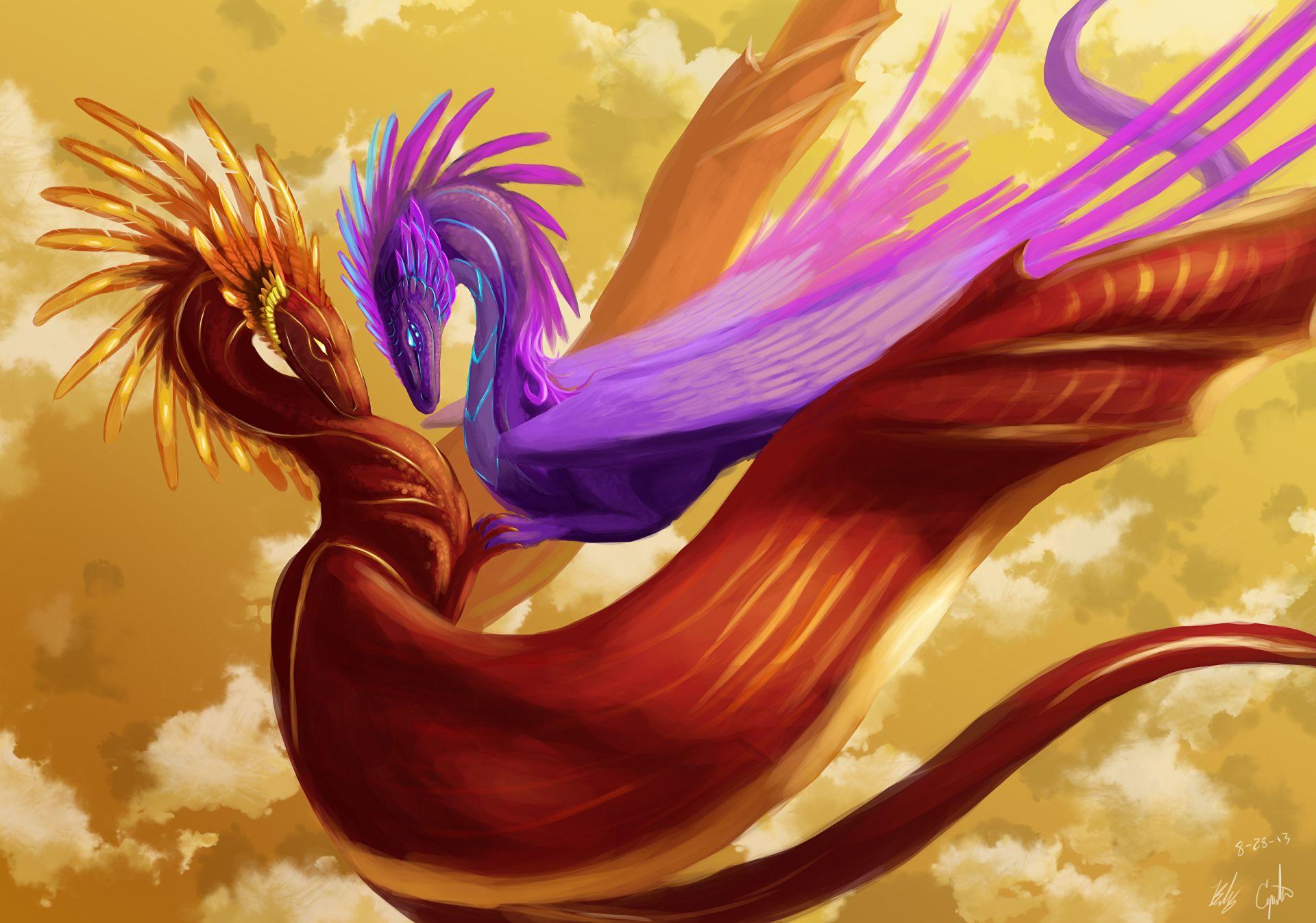 cute dragon art