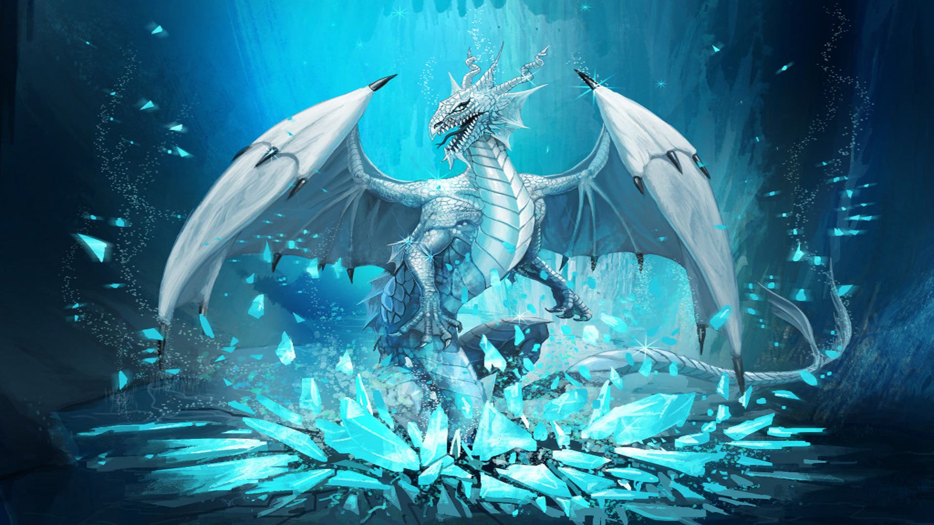 cute dragon ice