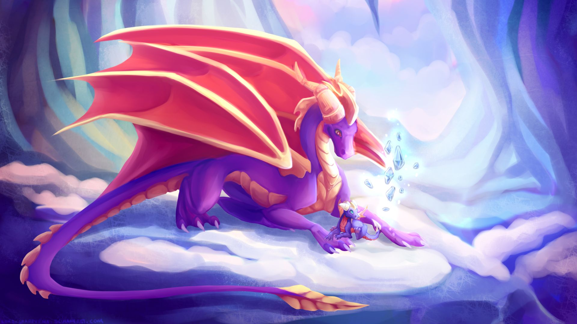 cute dragon art image hd