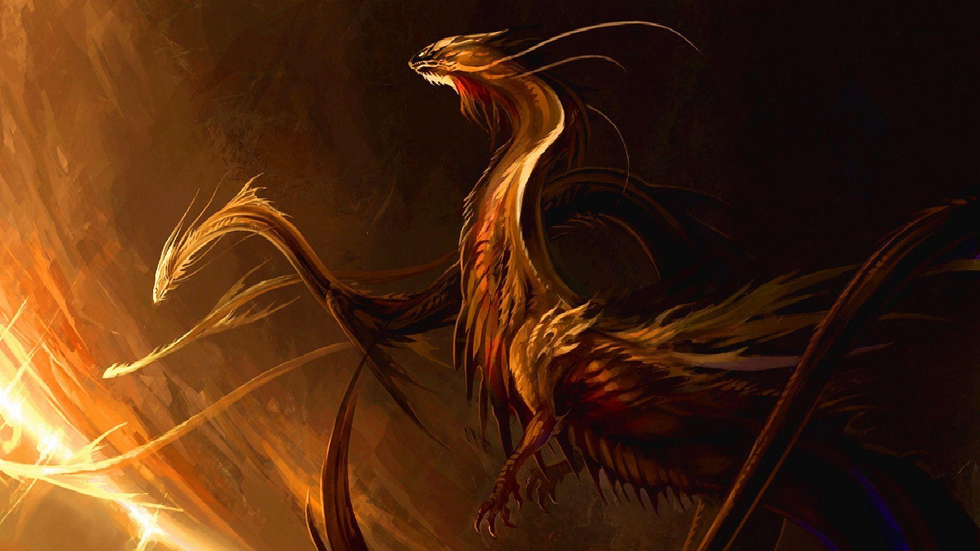 free fantasy dragon picture