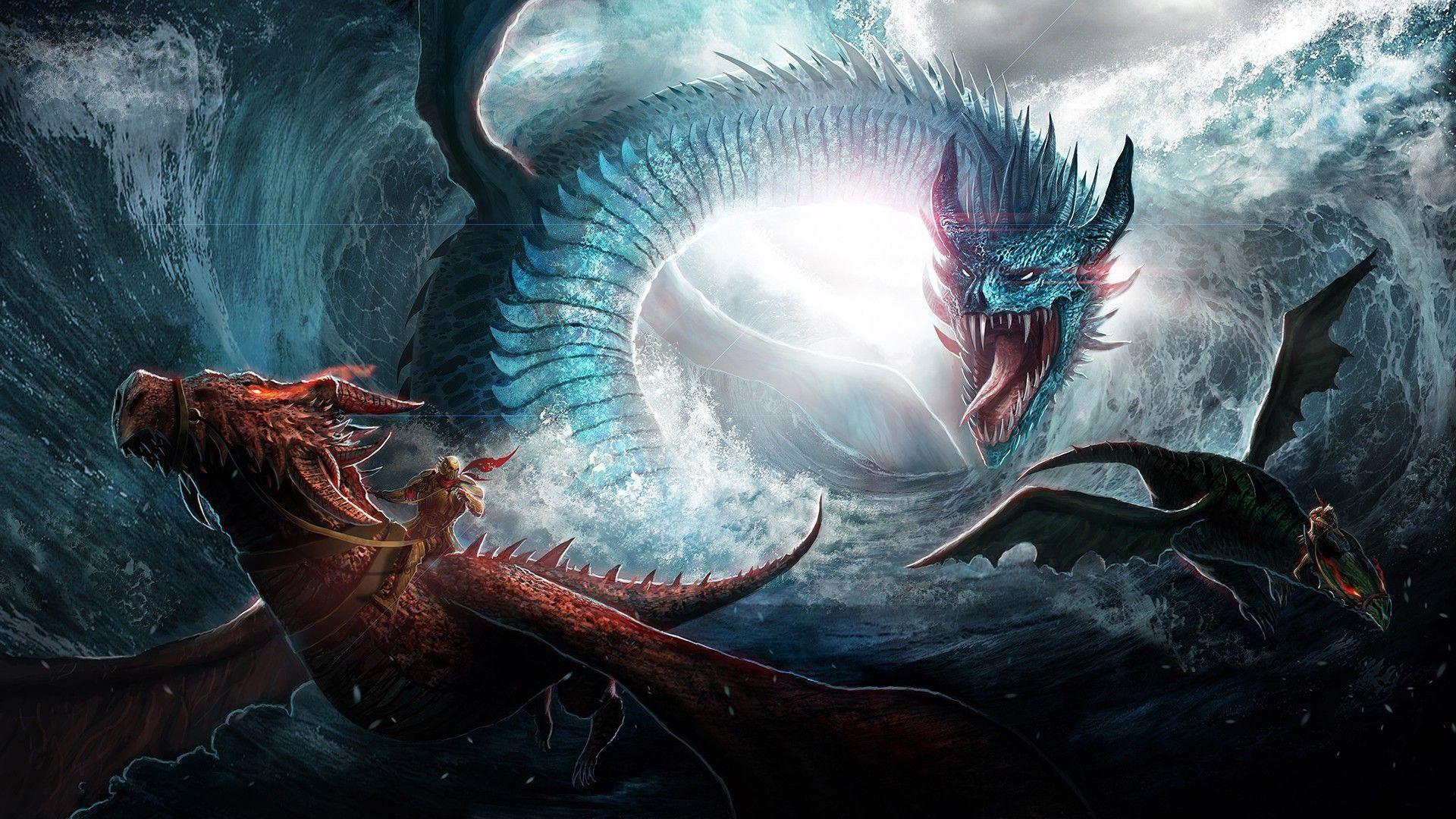 fantasy creatures wallpaper
