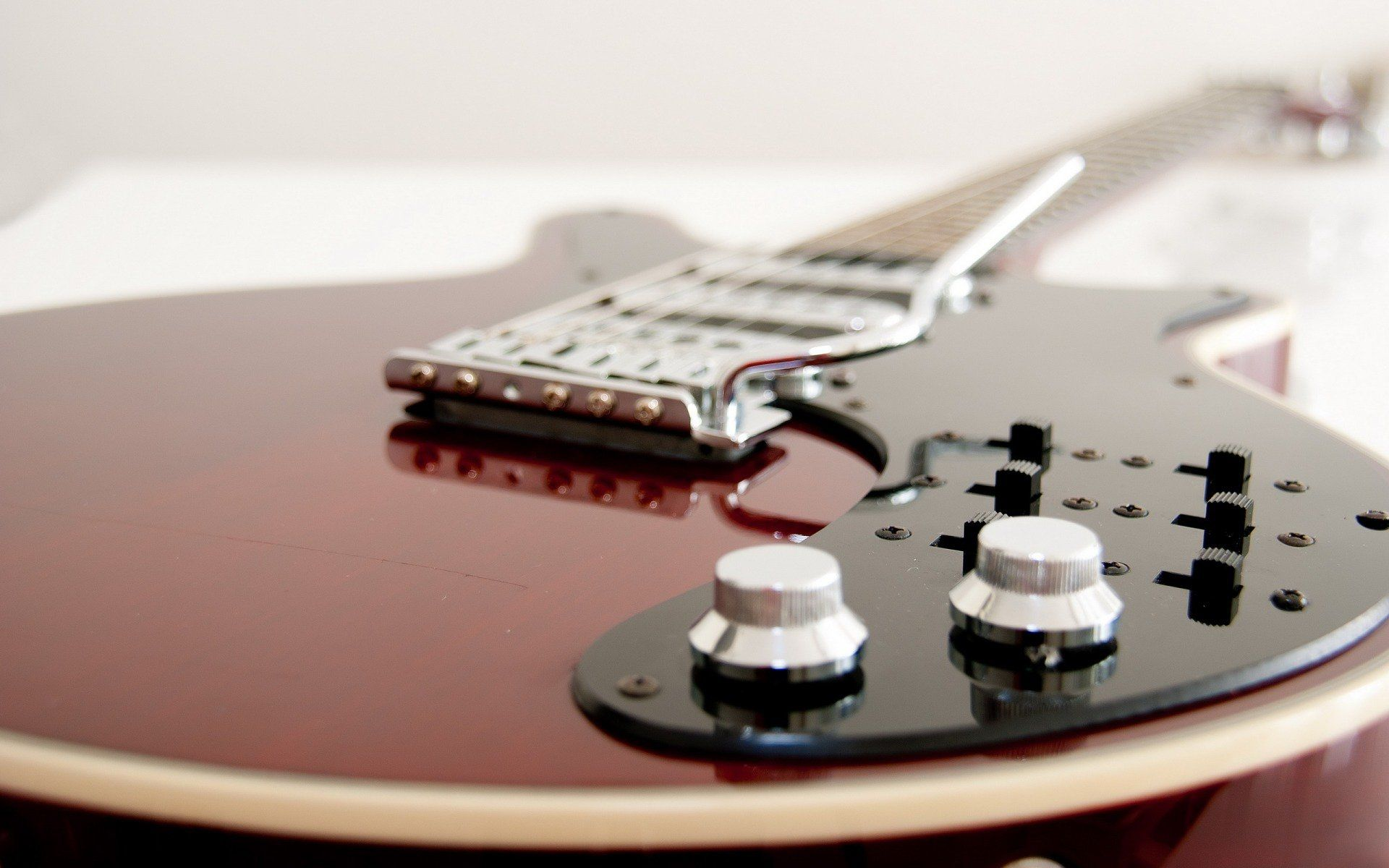 Electric Guitar Red, Picture